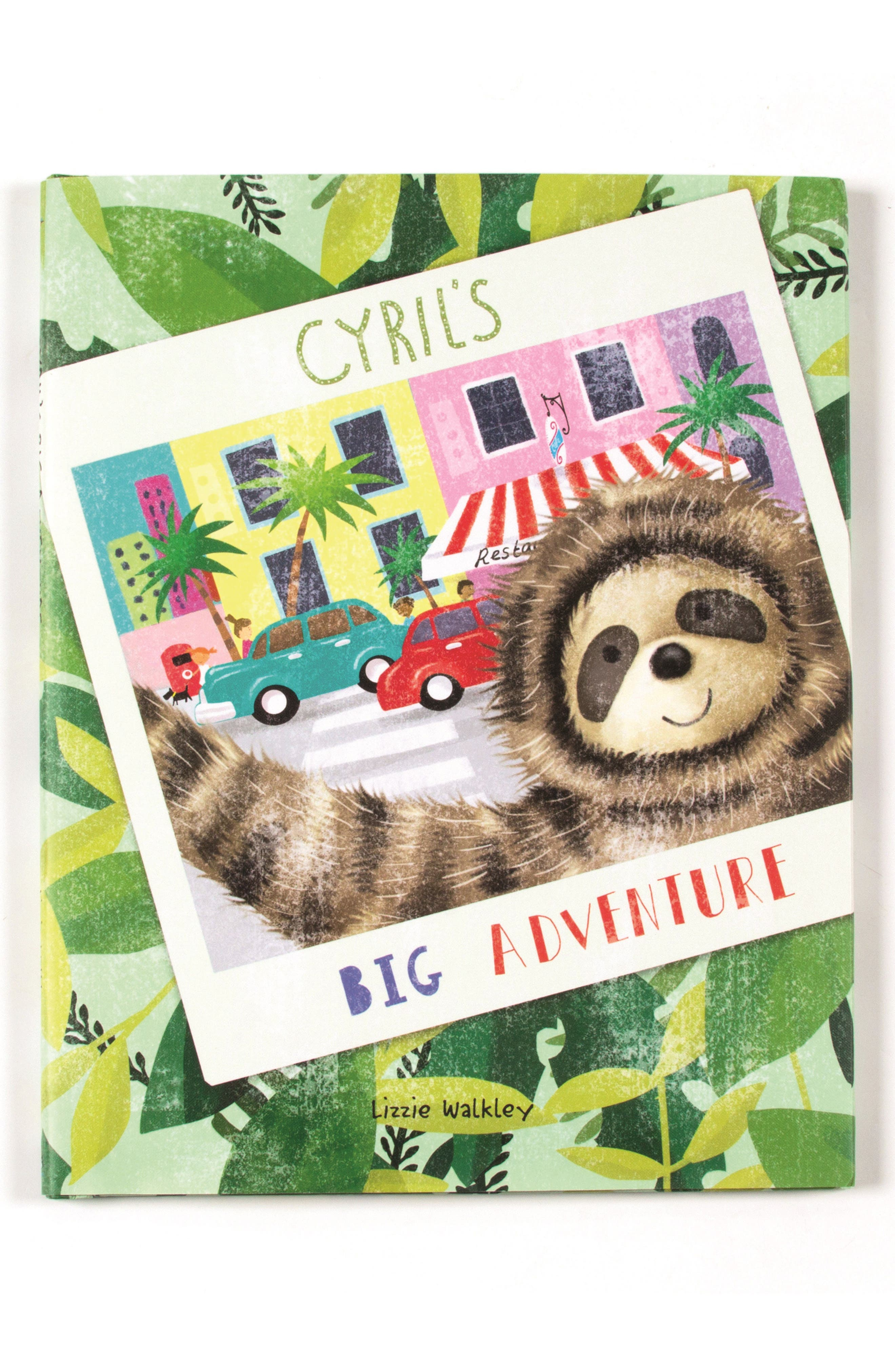 'Cyril's Big Adventure' Book,                             Main thumbnail 1, color,                             Multi