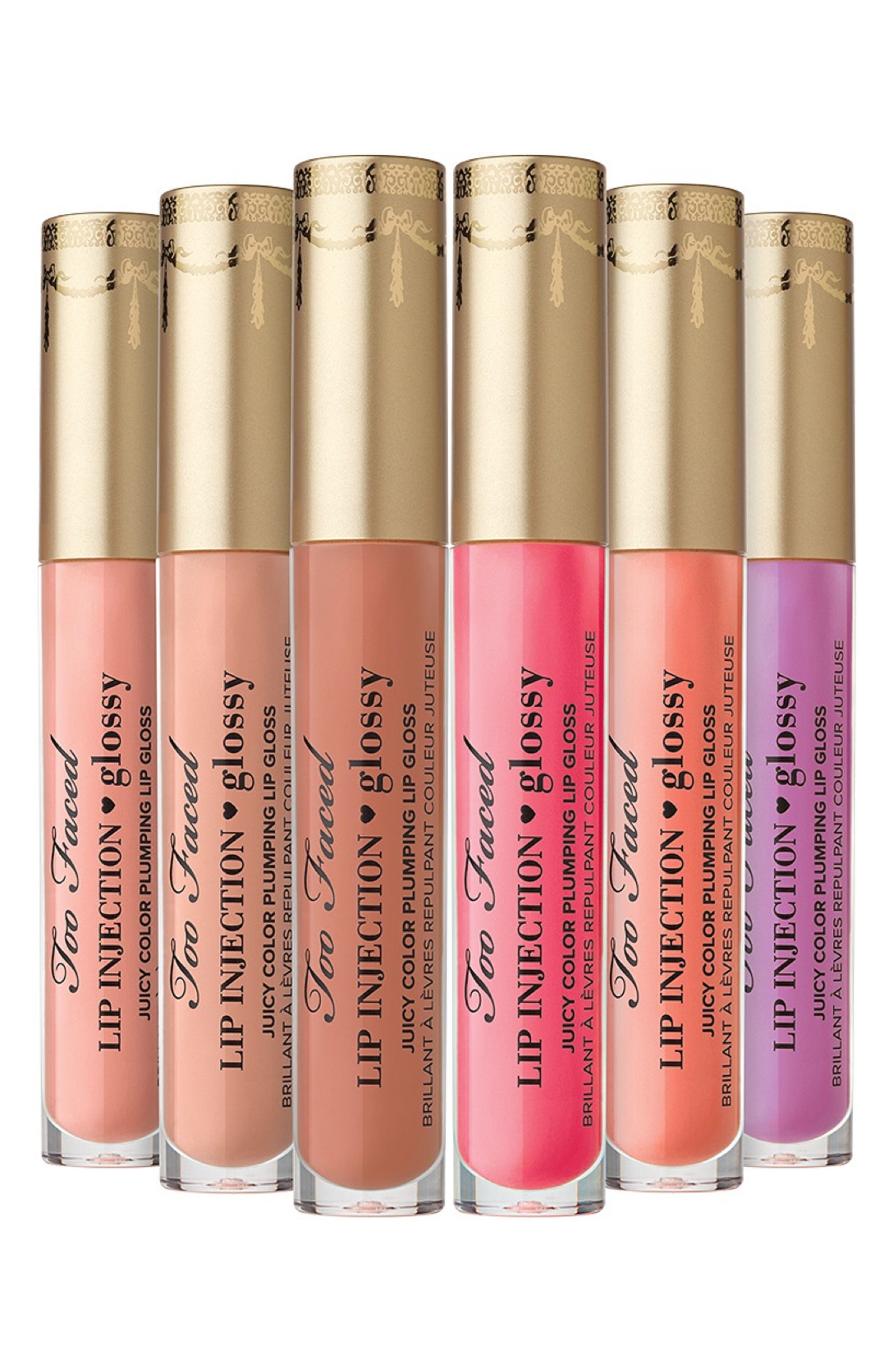 Lip Injection Color Lip Gloss,                             Alternate thumbnail 4, color,