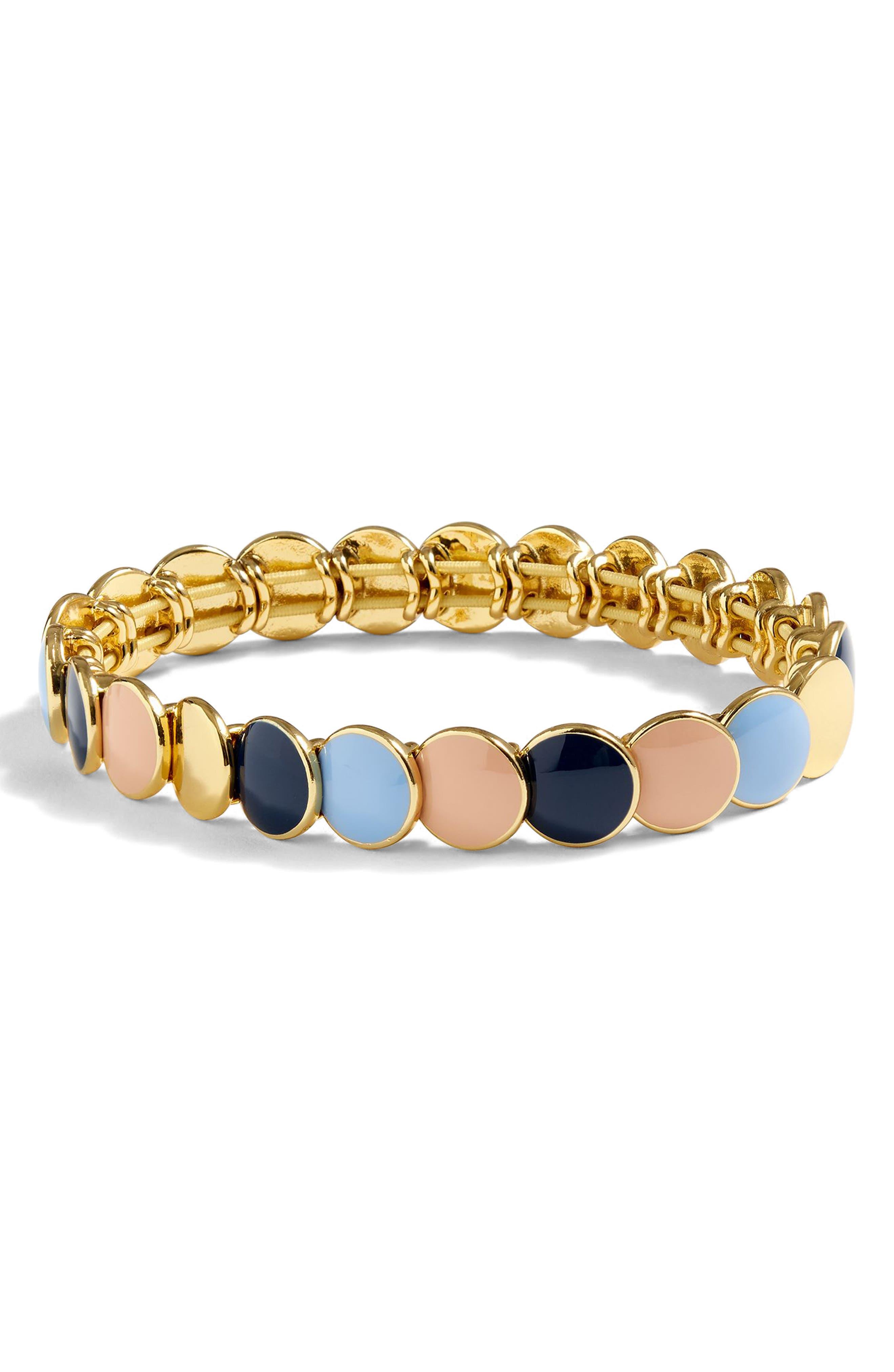 Polka Bracelet,                         Main,                         color, Gold Multi