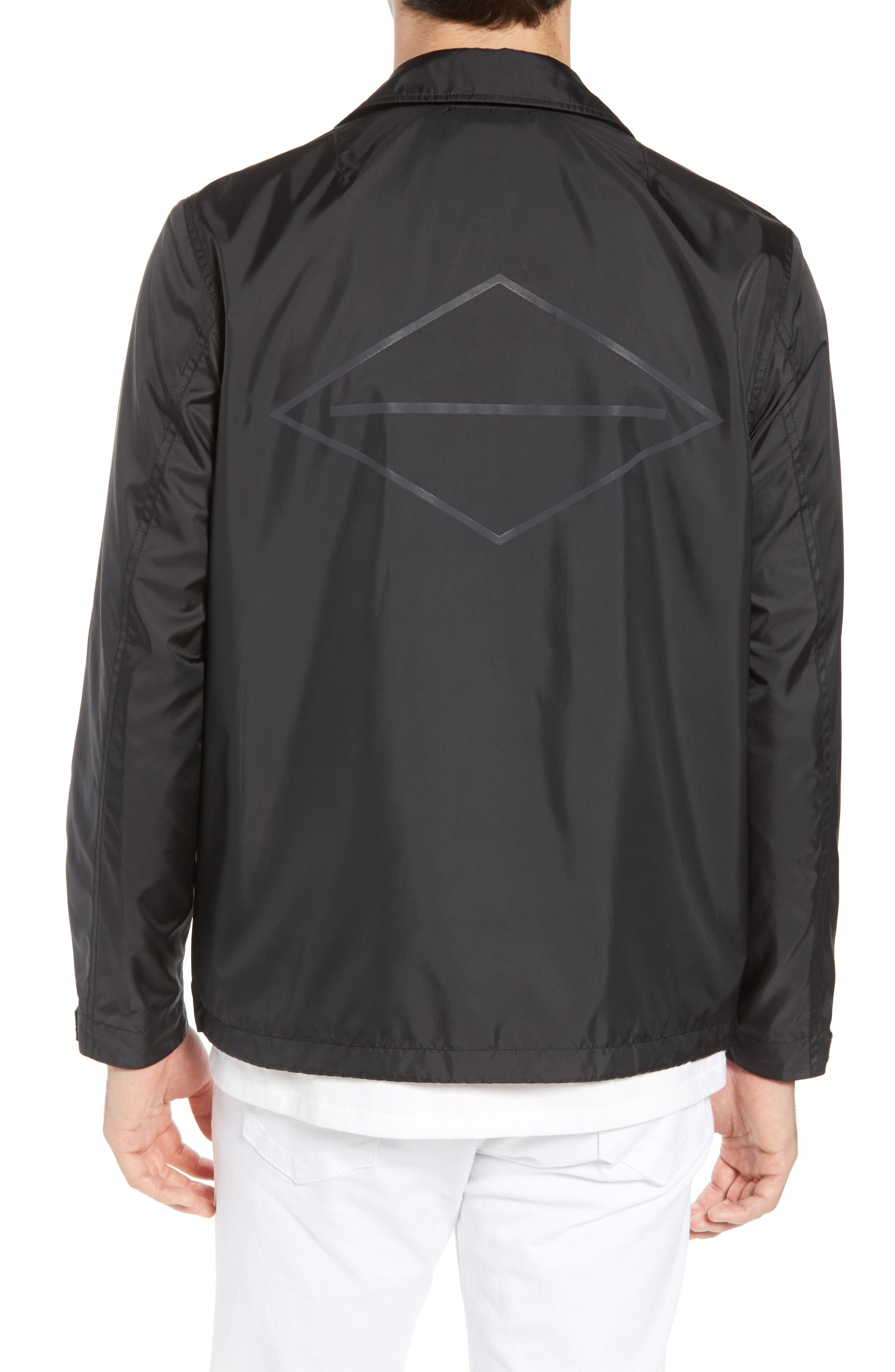 Coaches Jacket,                             Alternate thumbnail 2, color,                             Black