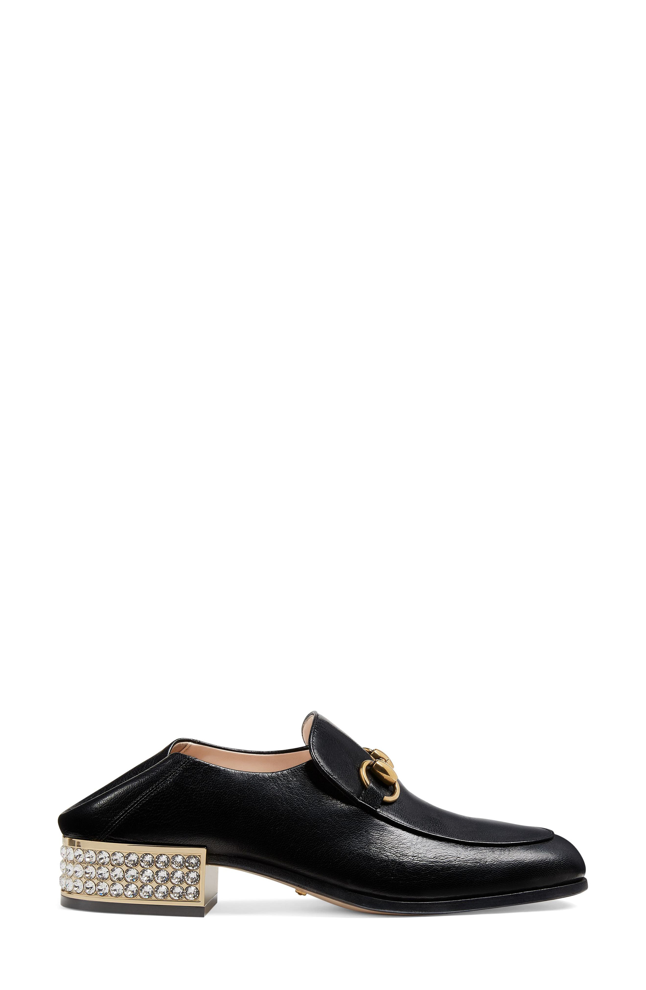 Mister Crystal Convertible Loafer,                             Alternate thumbnail 2, color,                             Black