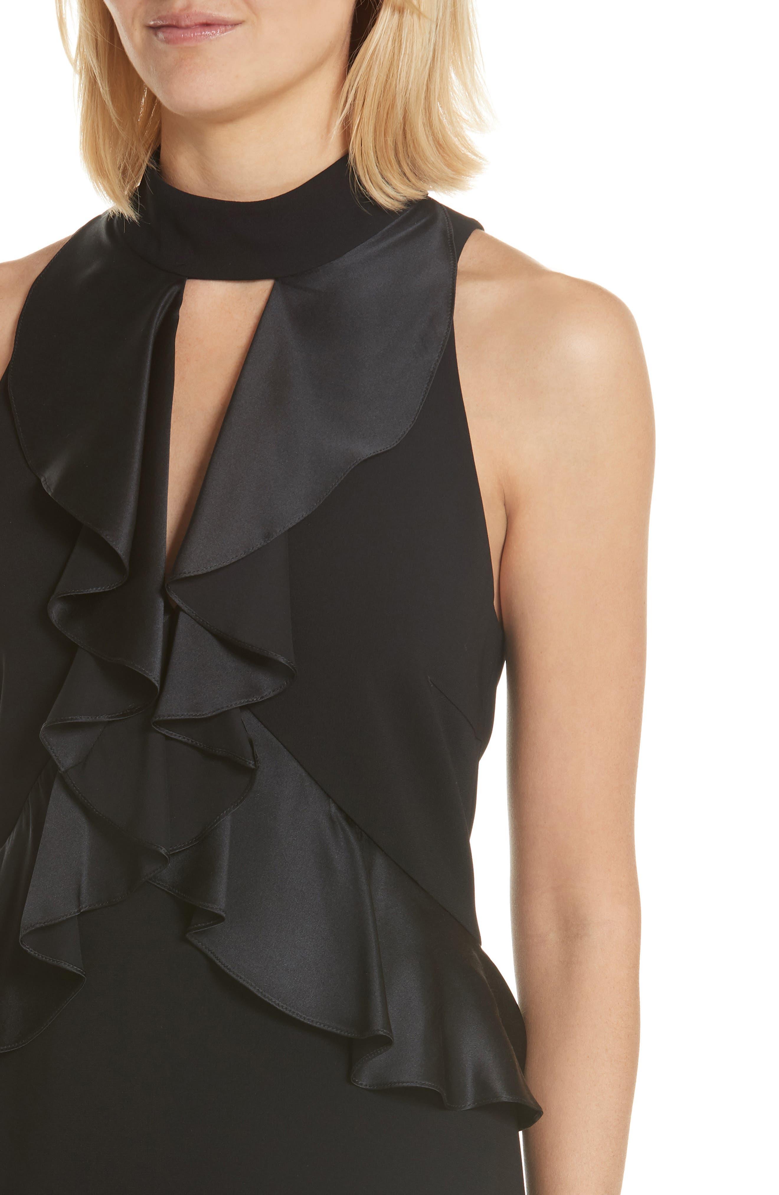 Alternate Image 4  - Cinq à Sept Maxie Ruffle Dress