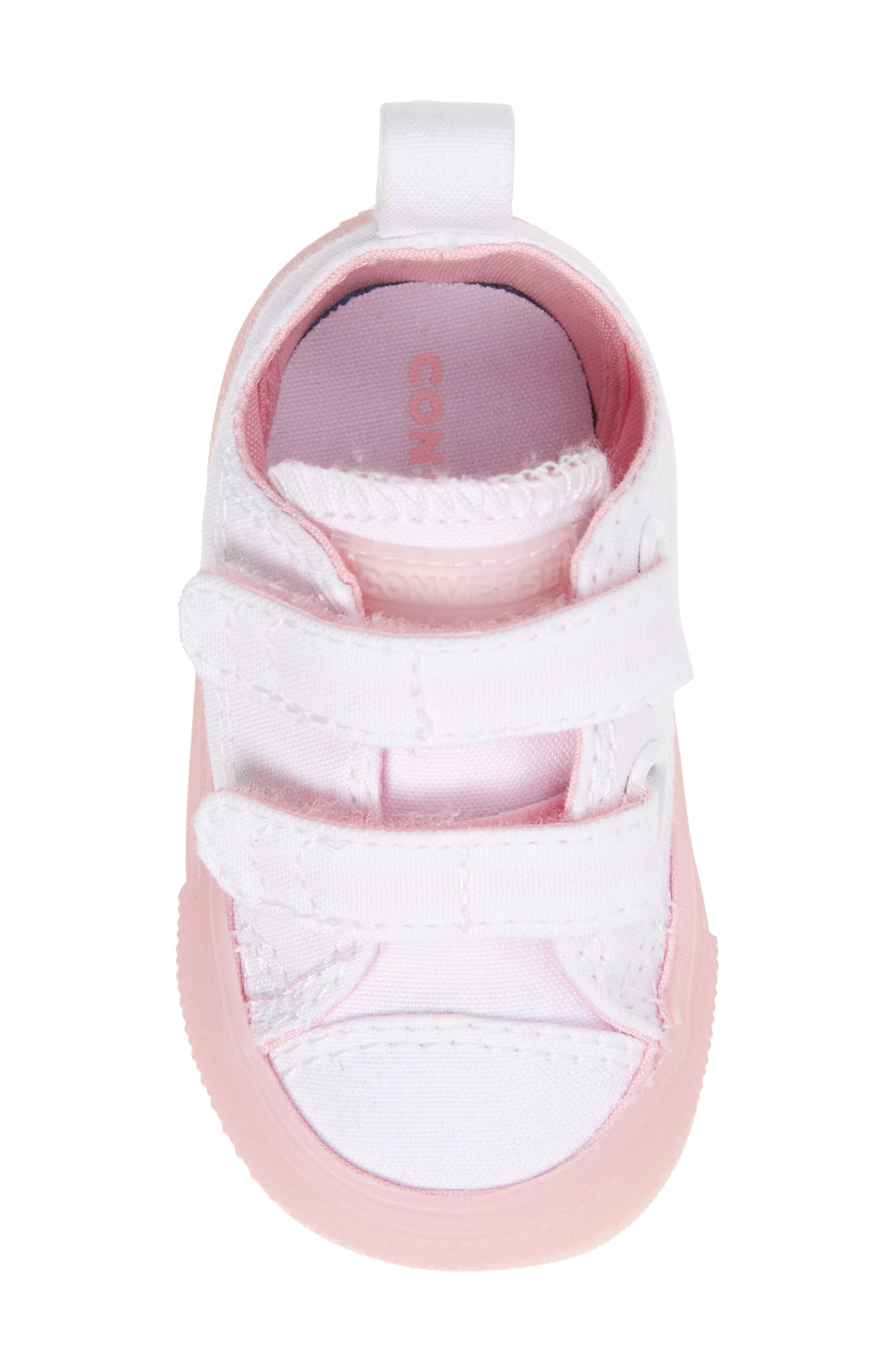 Chuck Taylor<sup>®</sup> All Star<sup>®</sup> Jelly Sneaker,                             Alternate thumbnail 5, color,                             White/ Cherry