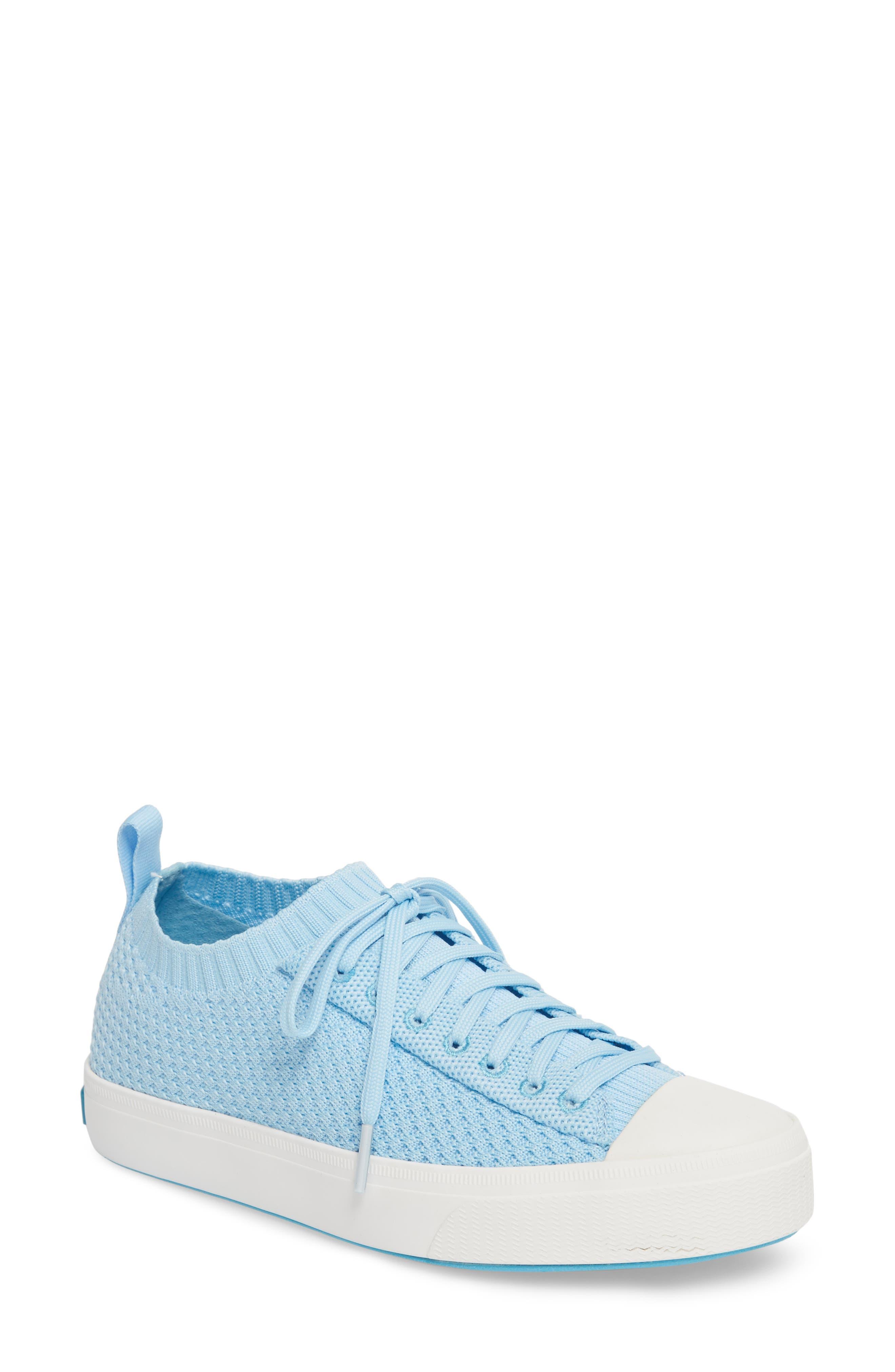 Jefferson 2.0 Liteknit Sneaker,                             Main thumbnail 1, color,                             Sky Blue/ Shell White