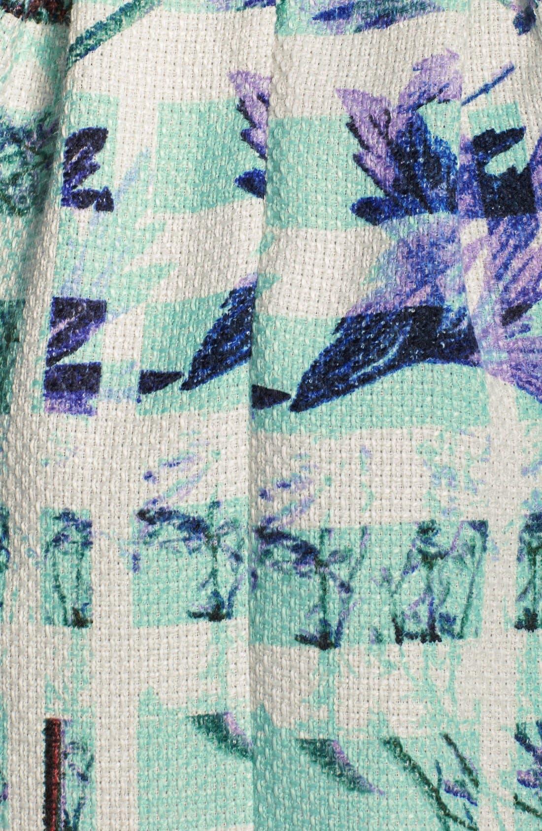 Alternate Image 4  - BCBGeneration Print Woven Fit & Flare Dress
