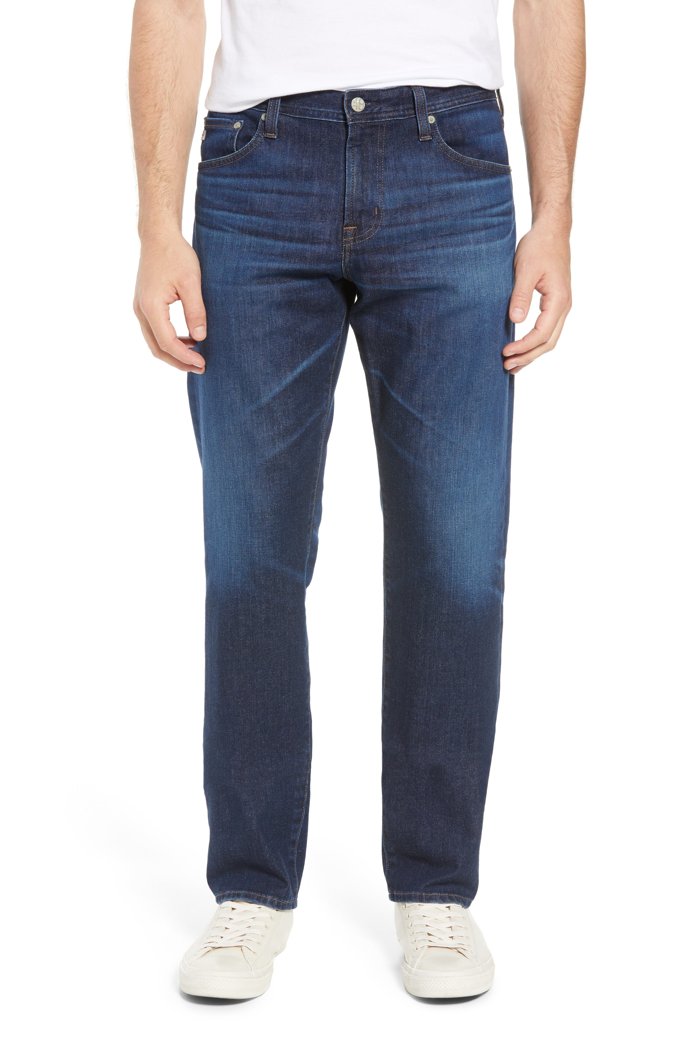 Graduate Slim Straight Fit Jeans,                         Main,                         color, 5 Years Lost Coast