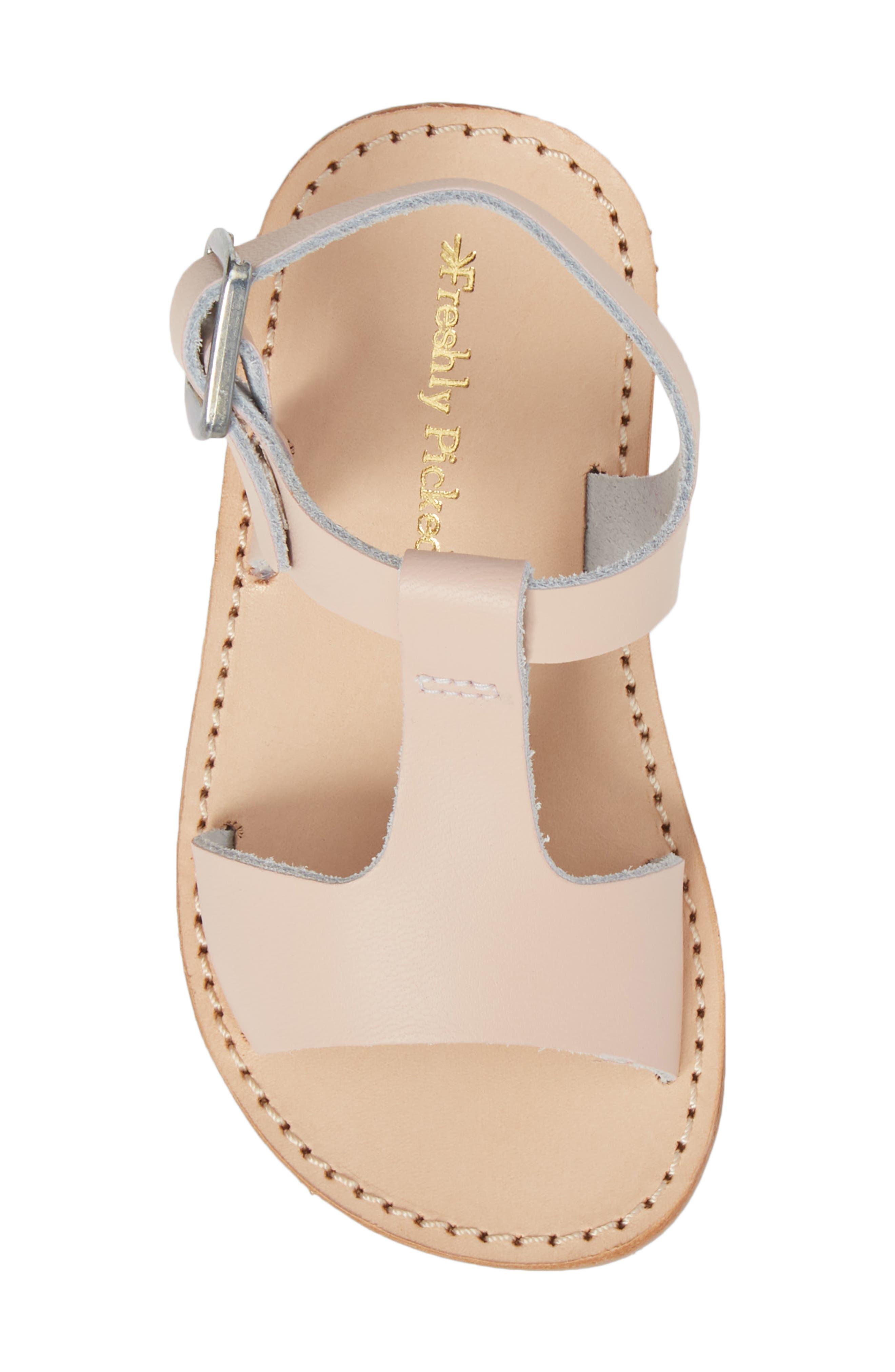 Malibu Water Resistant Sandal,                             Alternate thumbnail 5, color,                             Blush