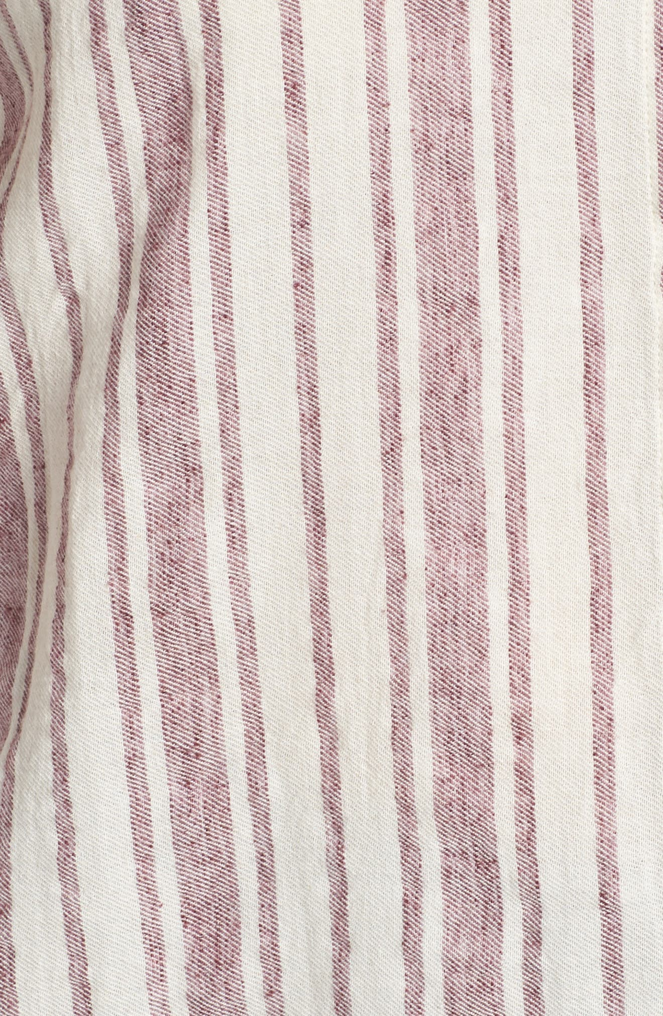 Stripe Tunic,                             Alternate thumbnail 6, color,                             Raspberry Multi