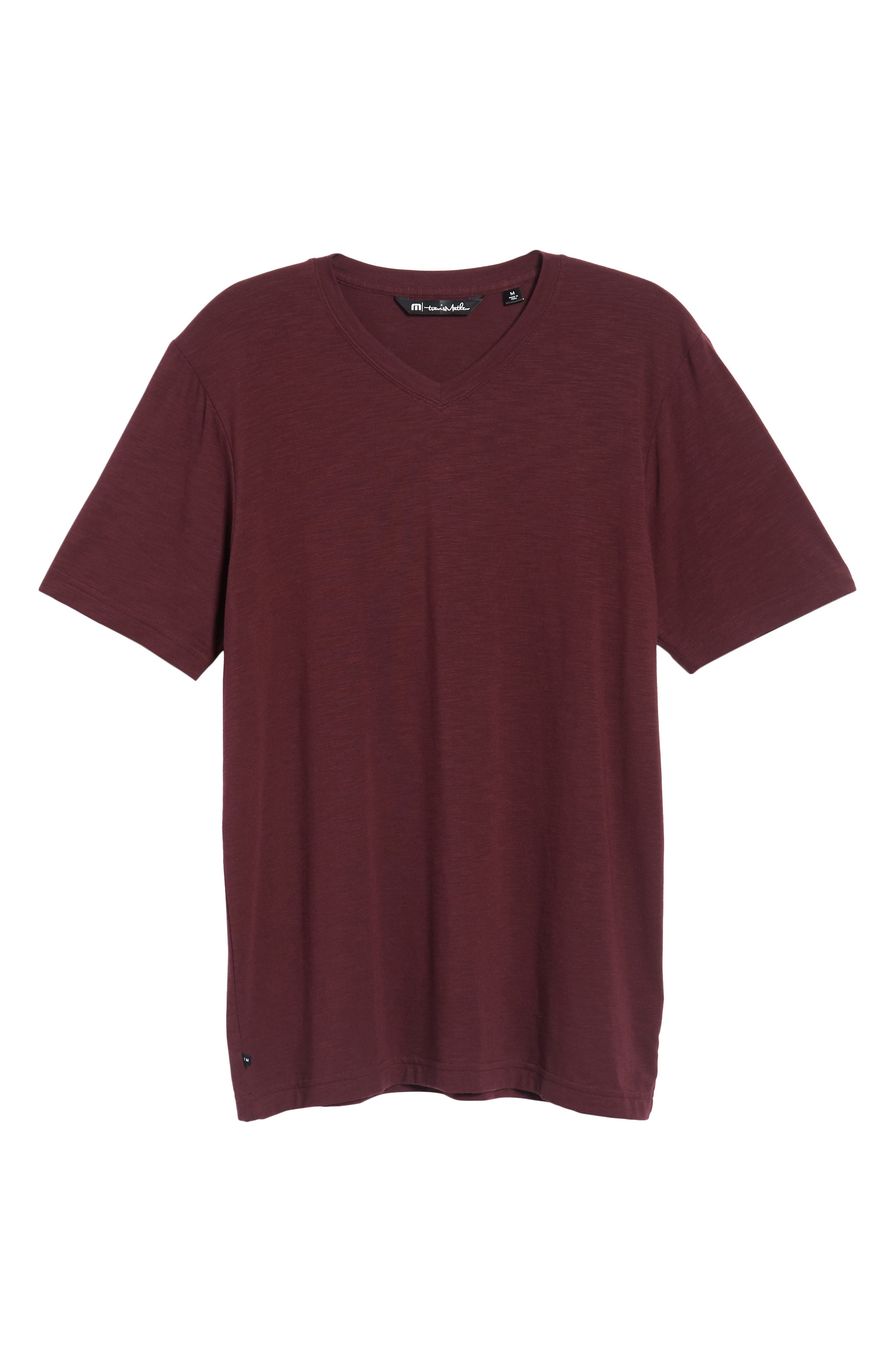 Alternate Image 6  - Travis Mathew 'Trumbull' Trim Fit Slubbed T-Shirt