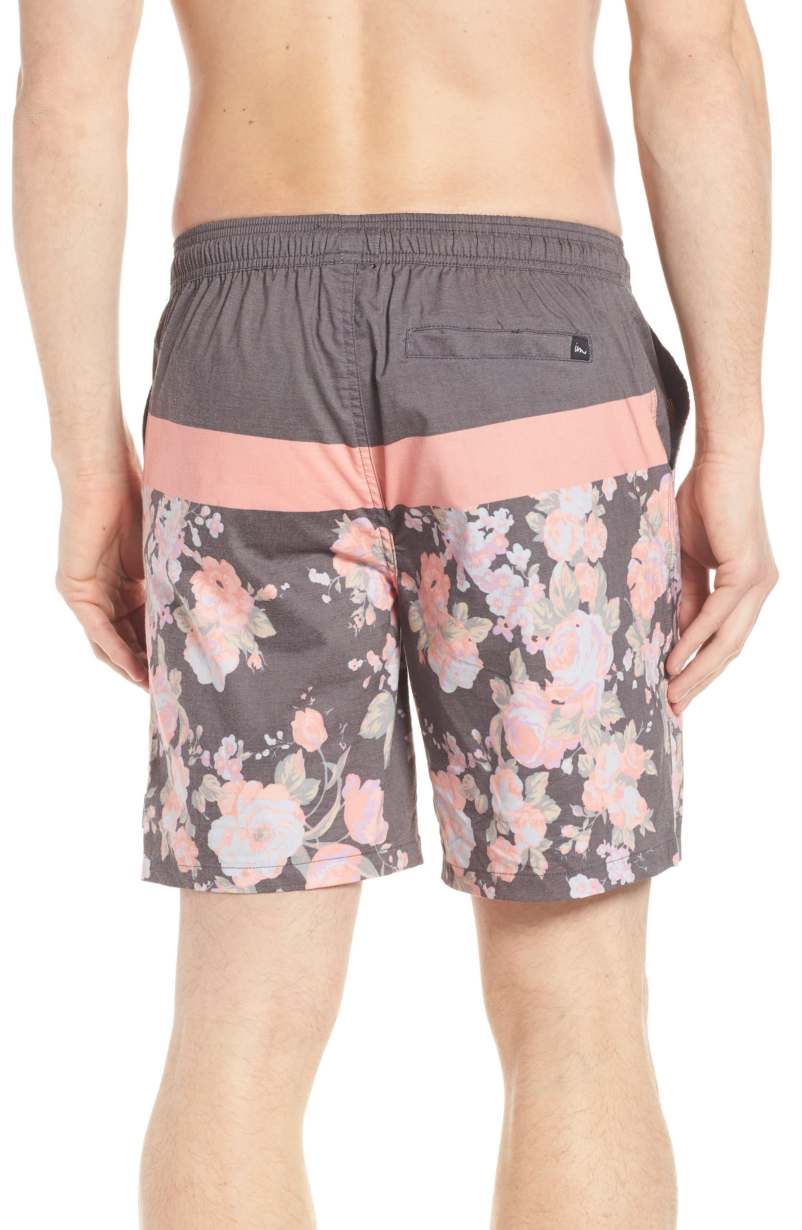 Hayworth Board Shorts,                             Alternate thumbnail 2, color,                             Black