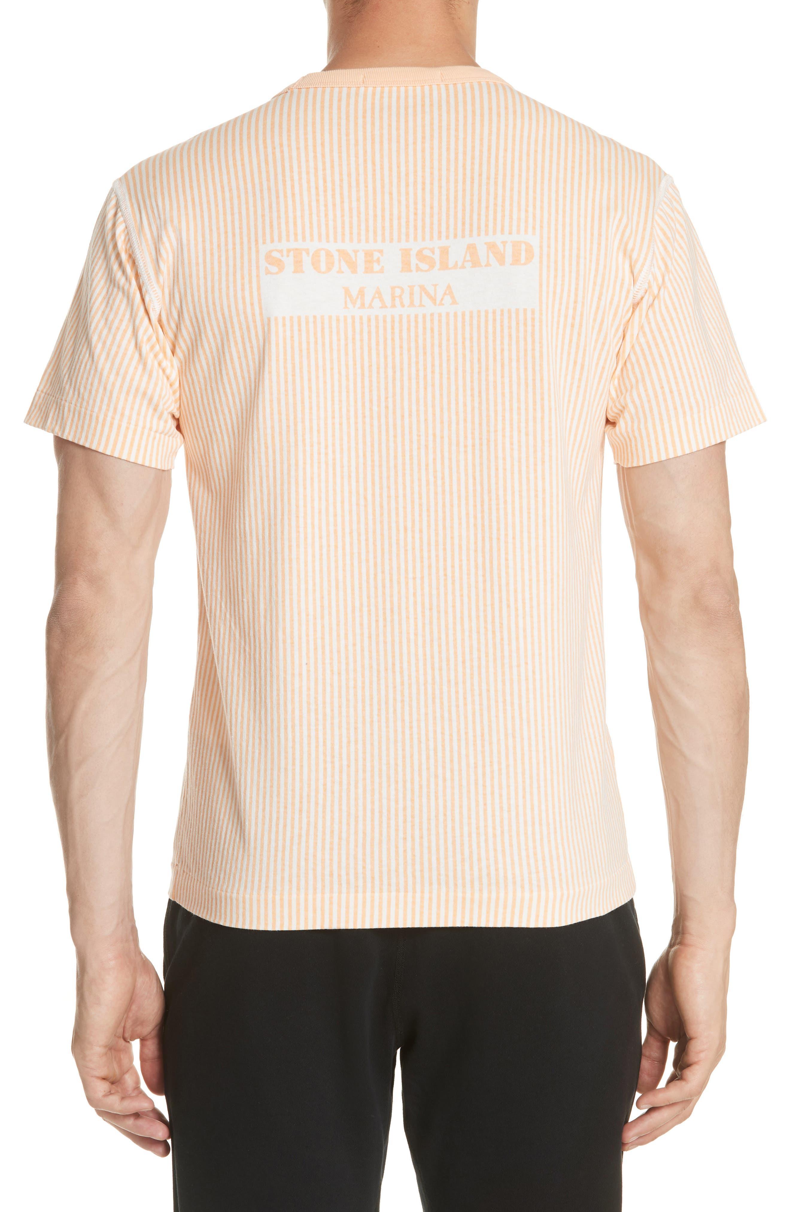 Alternate Image 2  - Stone Island Stripe Marina T-Shirt