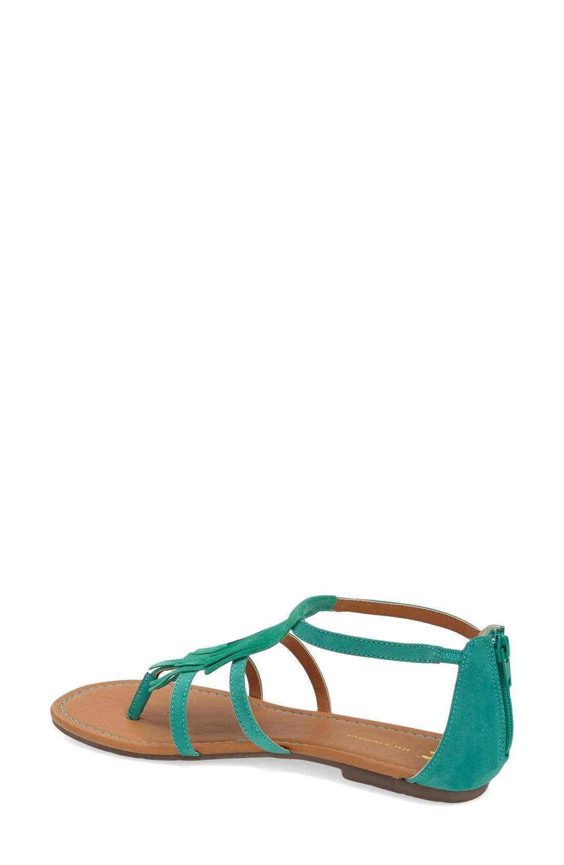 Alternate Image 2  - BC Footwear 'Maltese' Fringe Sandal (Women)