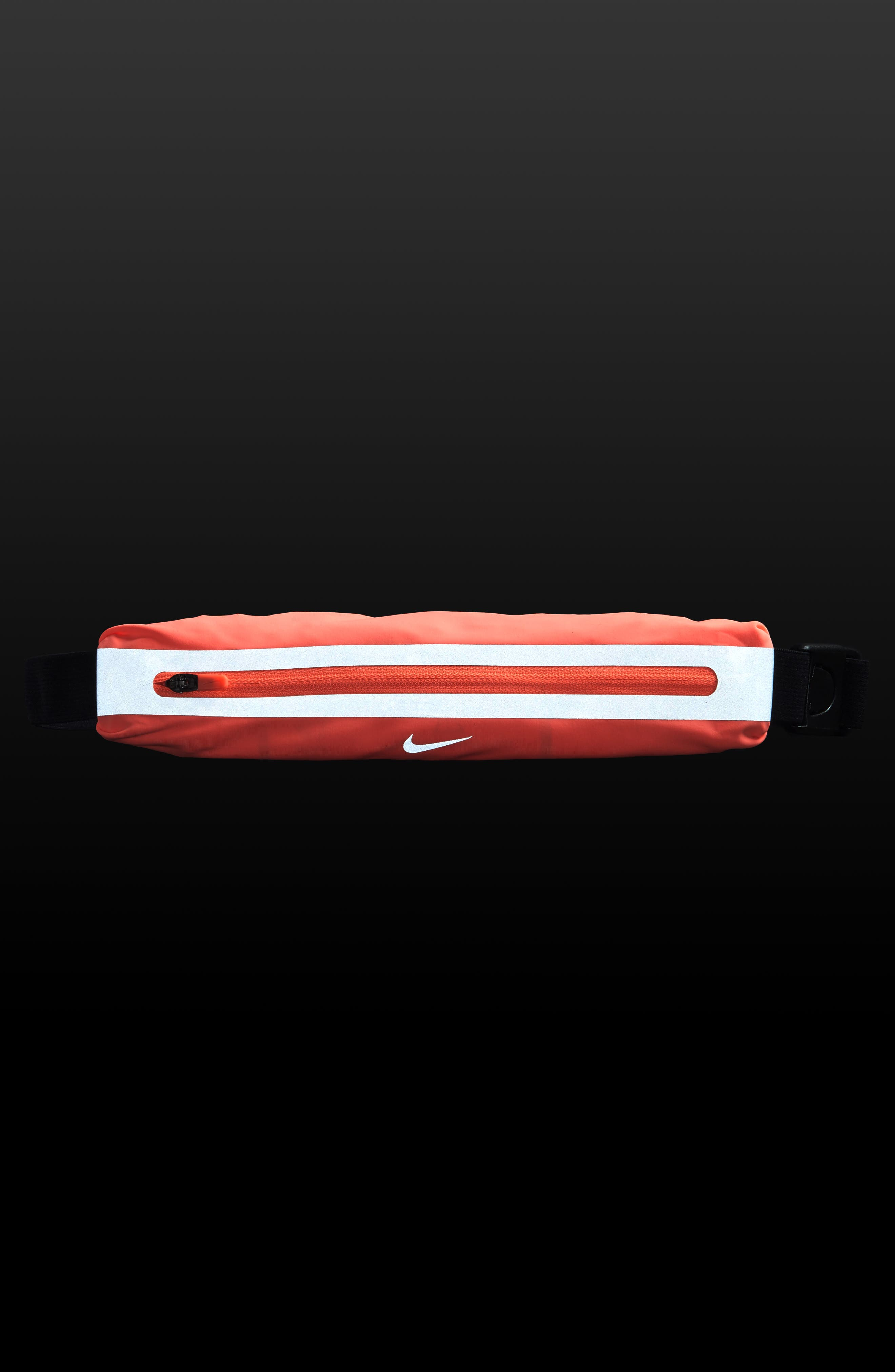Slim Running Waistpack,                             Alternate thumbnail 9, color,                             Crimson Pulse
