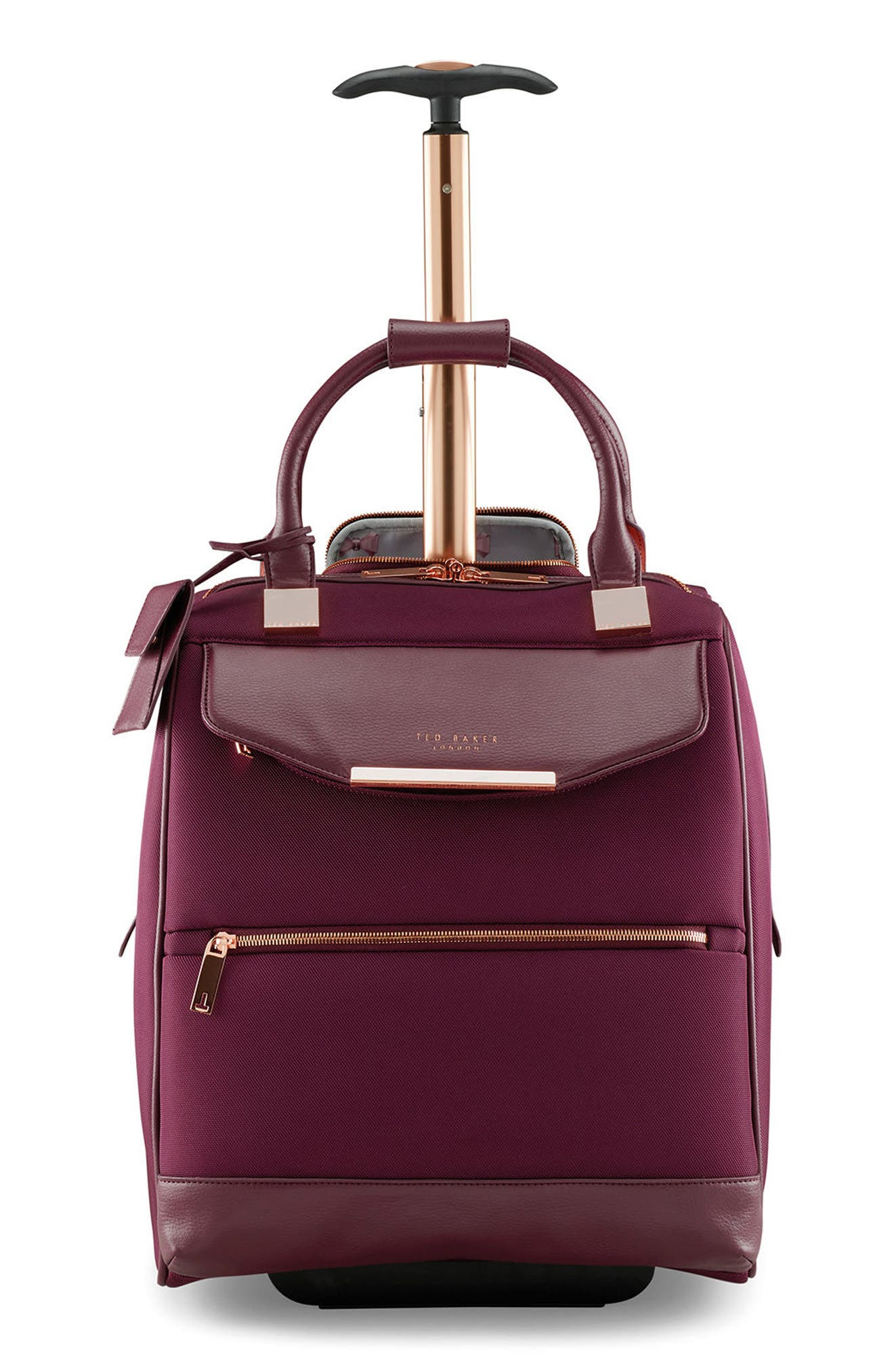 Business Trolley Case,                             Main thumbnail 1, color,                             Burgundy