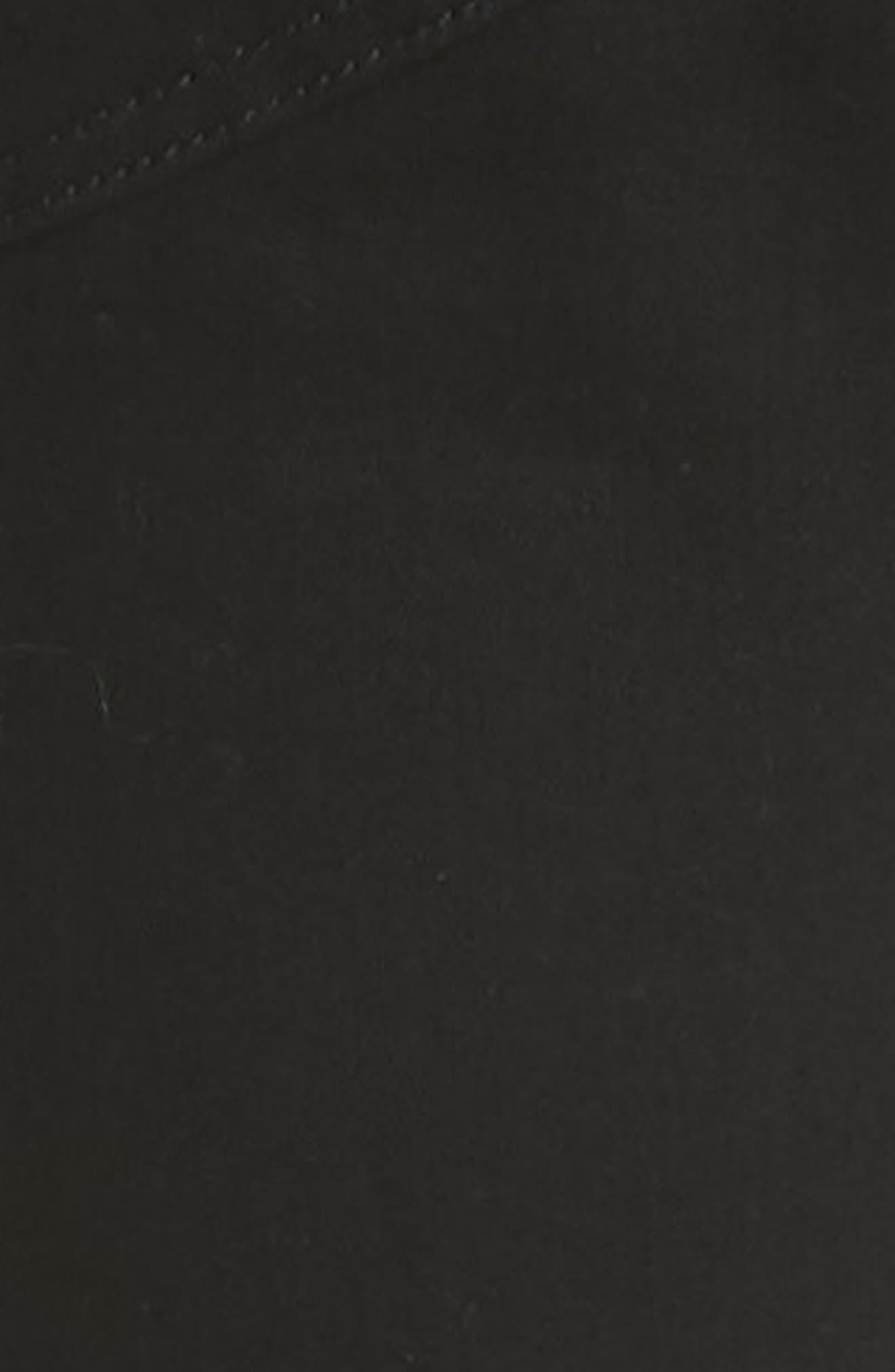 Van Winkle Black Rebel Skinny Fit Jeans,                             Alternate thumbnail 5, color,                             Black
