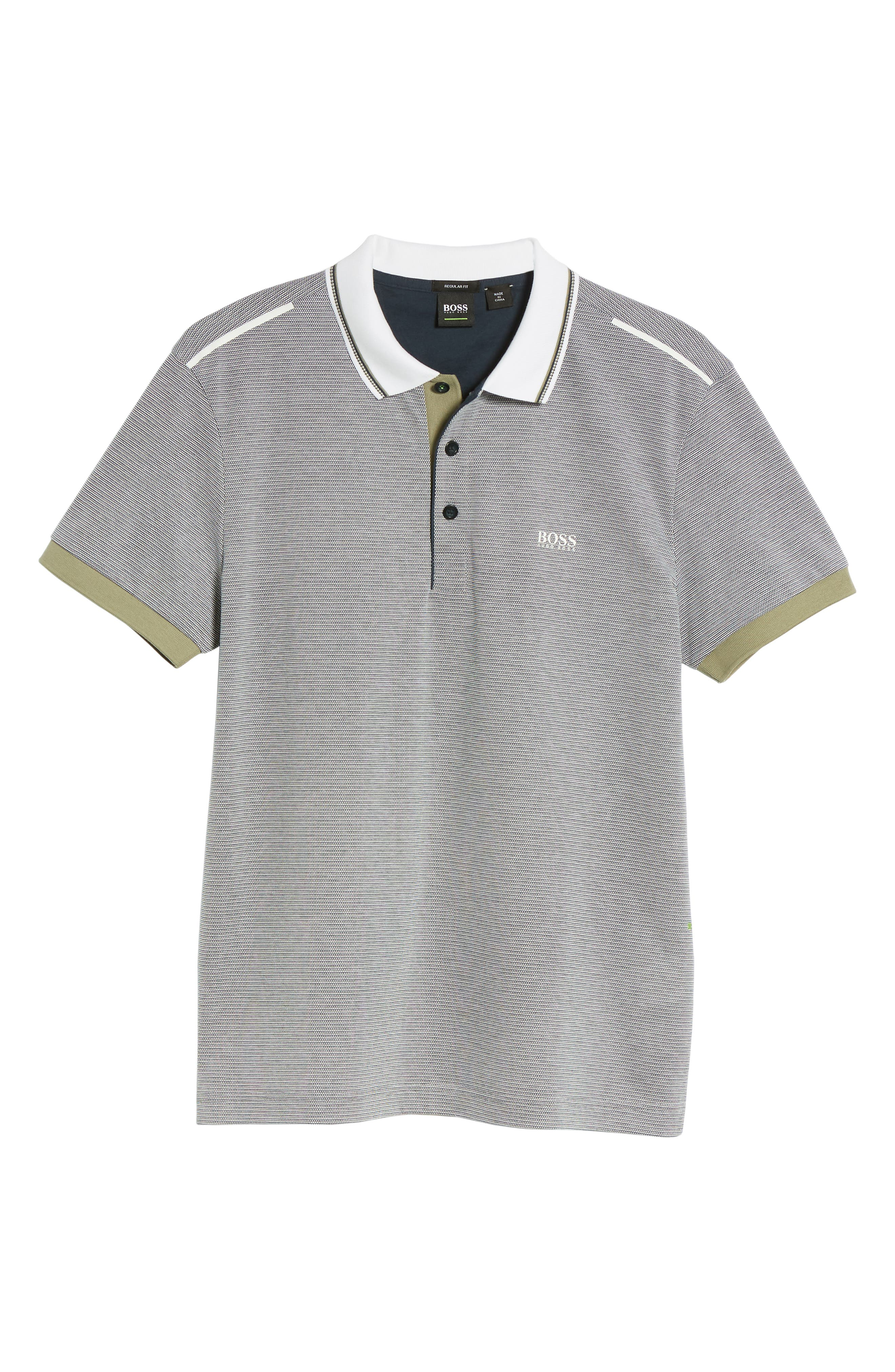Paddy Regular Fit Polo,                             Alternate thumbnail 6, color,                             Blue