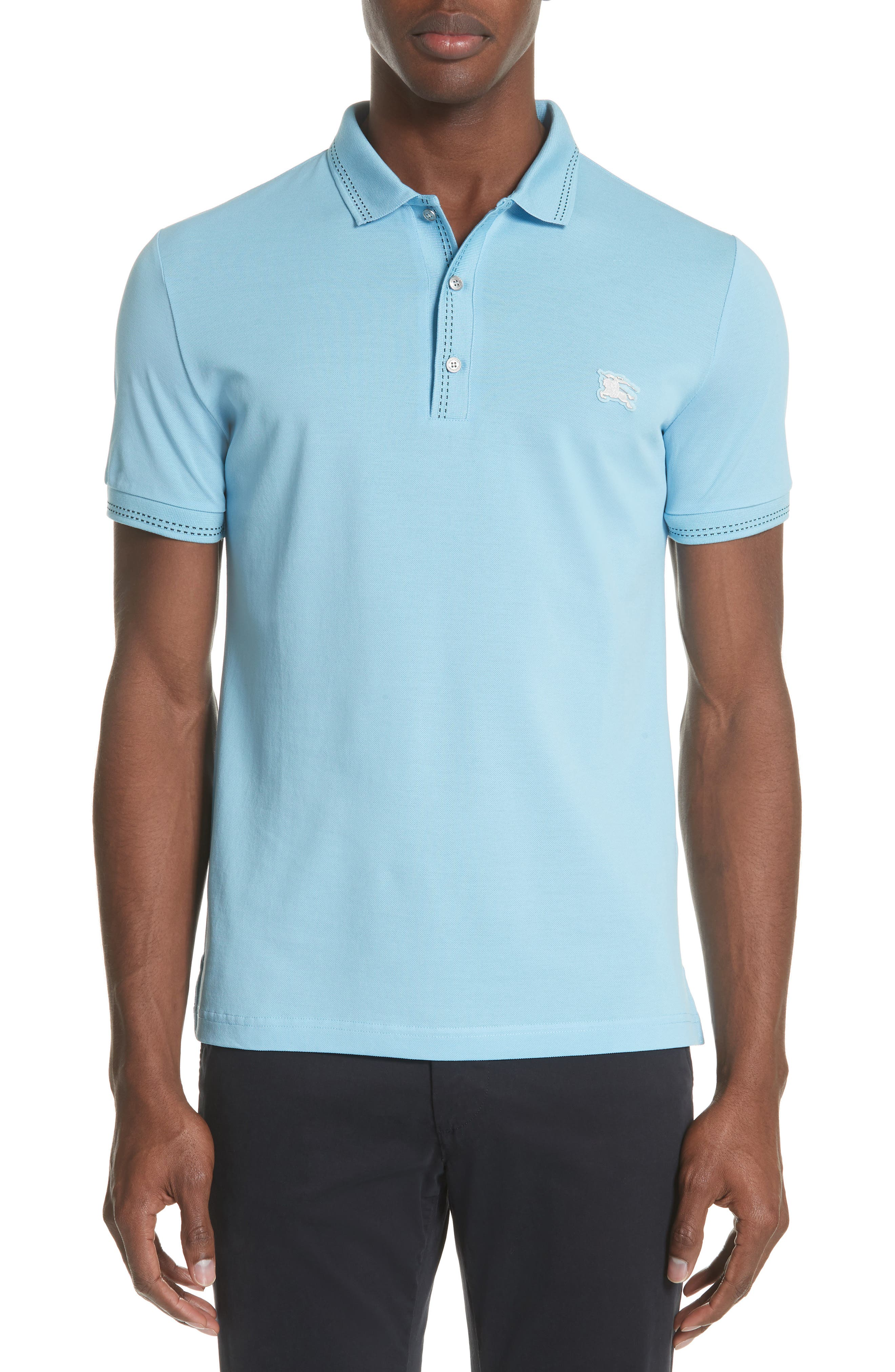 Kenforth Polo,                             Main thumbnail 1, color,                             Pale Turquoise