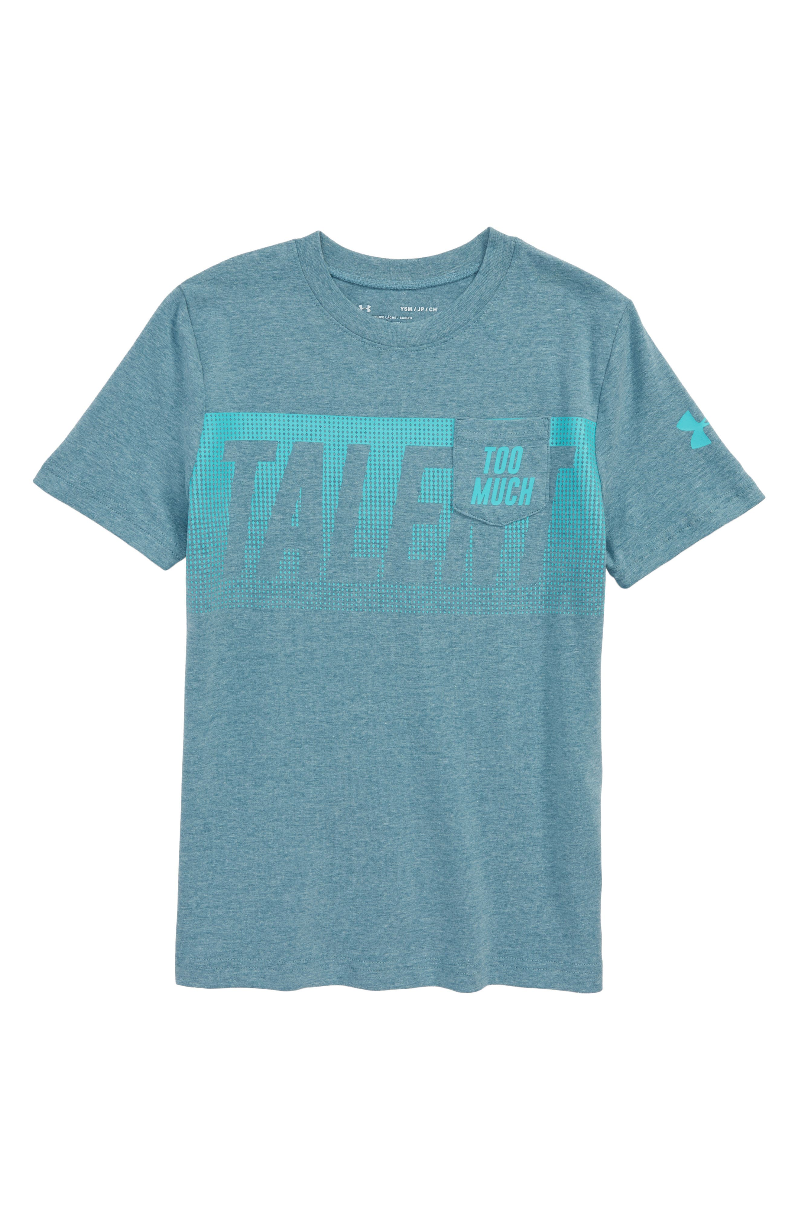 Under Armour Too Much Talent T-Shirt (Big Boys)