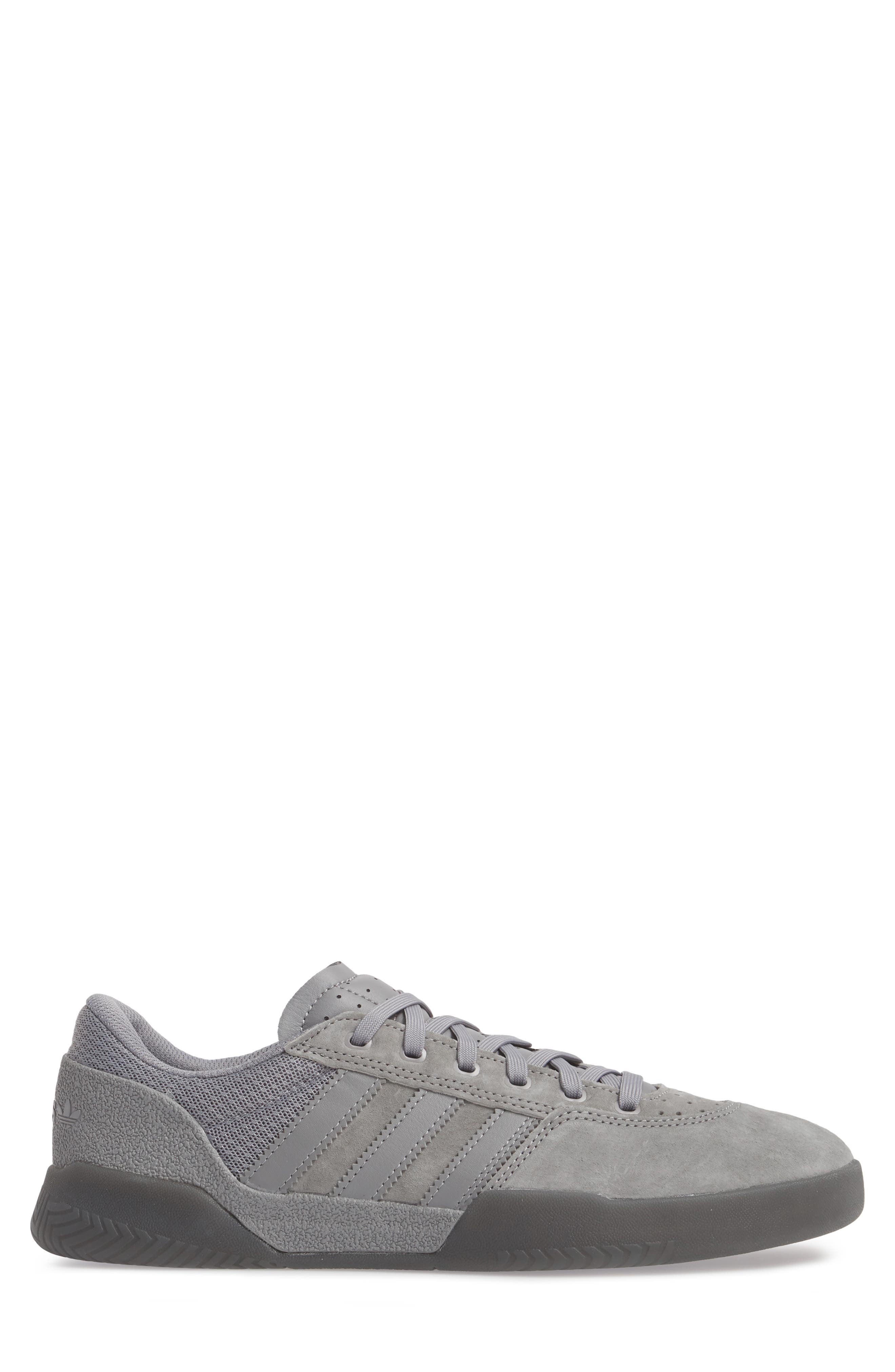City Cup Sneaker,                             Alternate thumbnail 3, color,                             Grey/ Gold