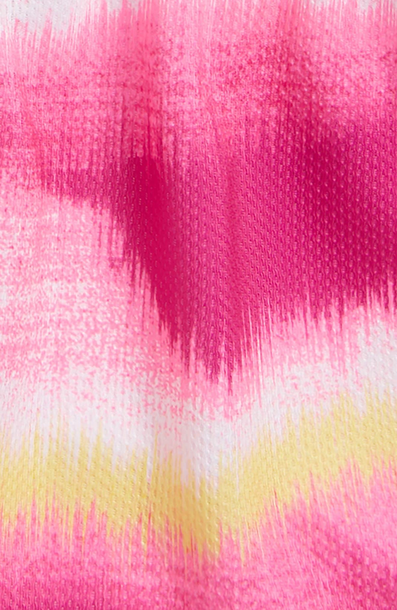 Horizon Logo HeatGear<sup>®</sup> Tank & Mesh Shorts Set,                             Alternate thumbnail 2, color,                             Tokyo Lemon
