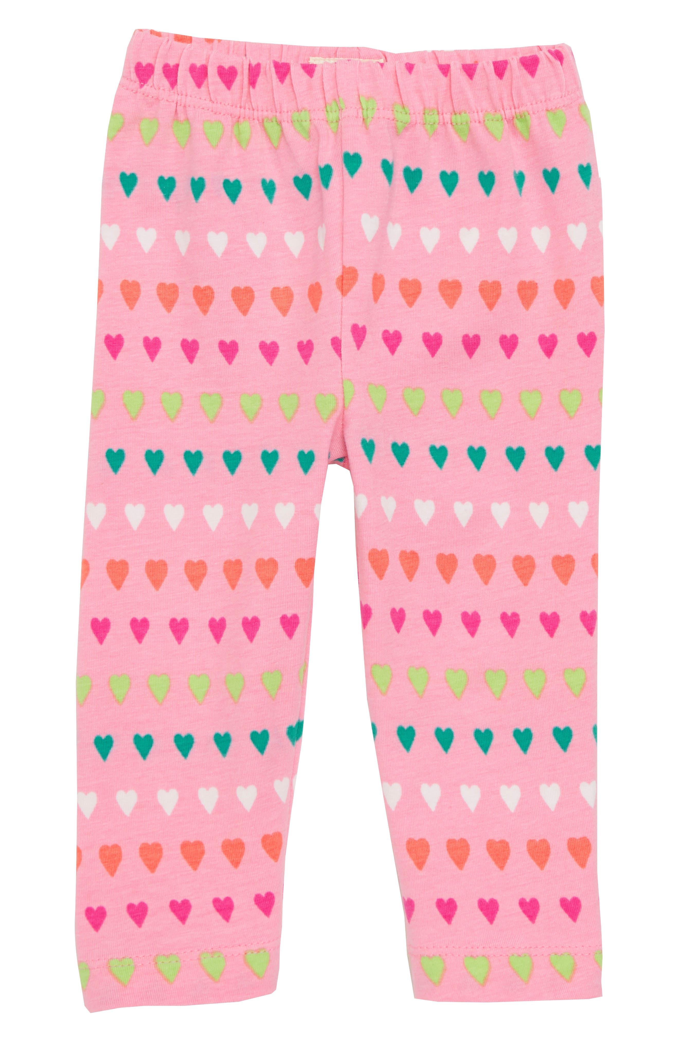 Fashion Print Leggings,                         Main,                         color, Heart Stripes