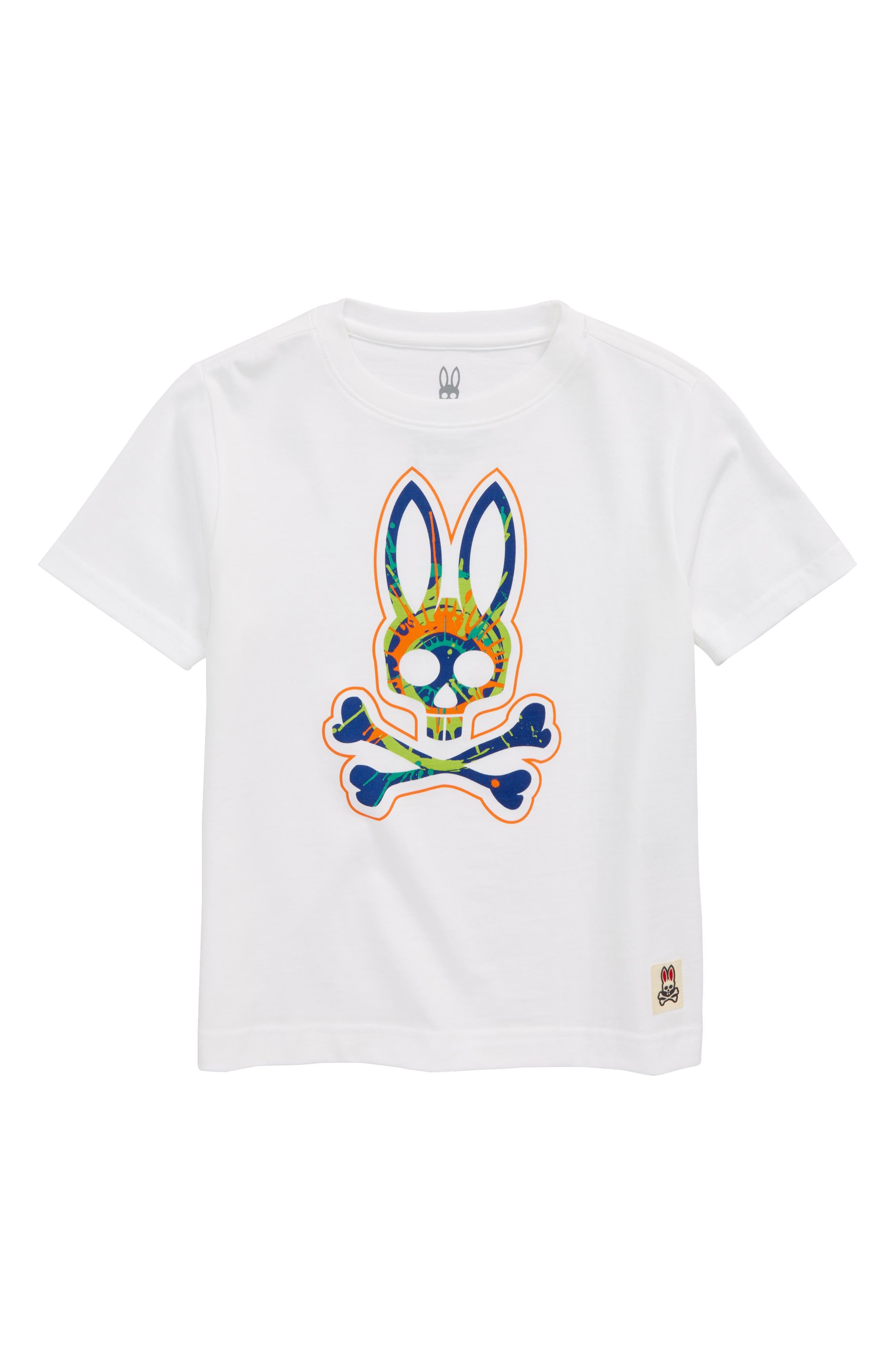 Psycho Bunny Logo Splash T-Shirt (Little Boys & Big Boys)