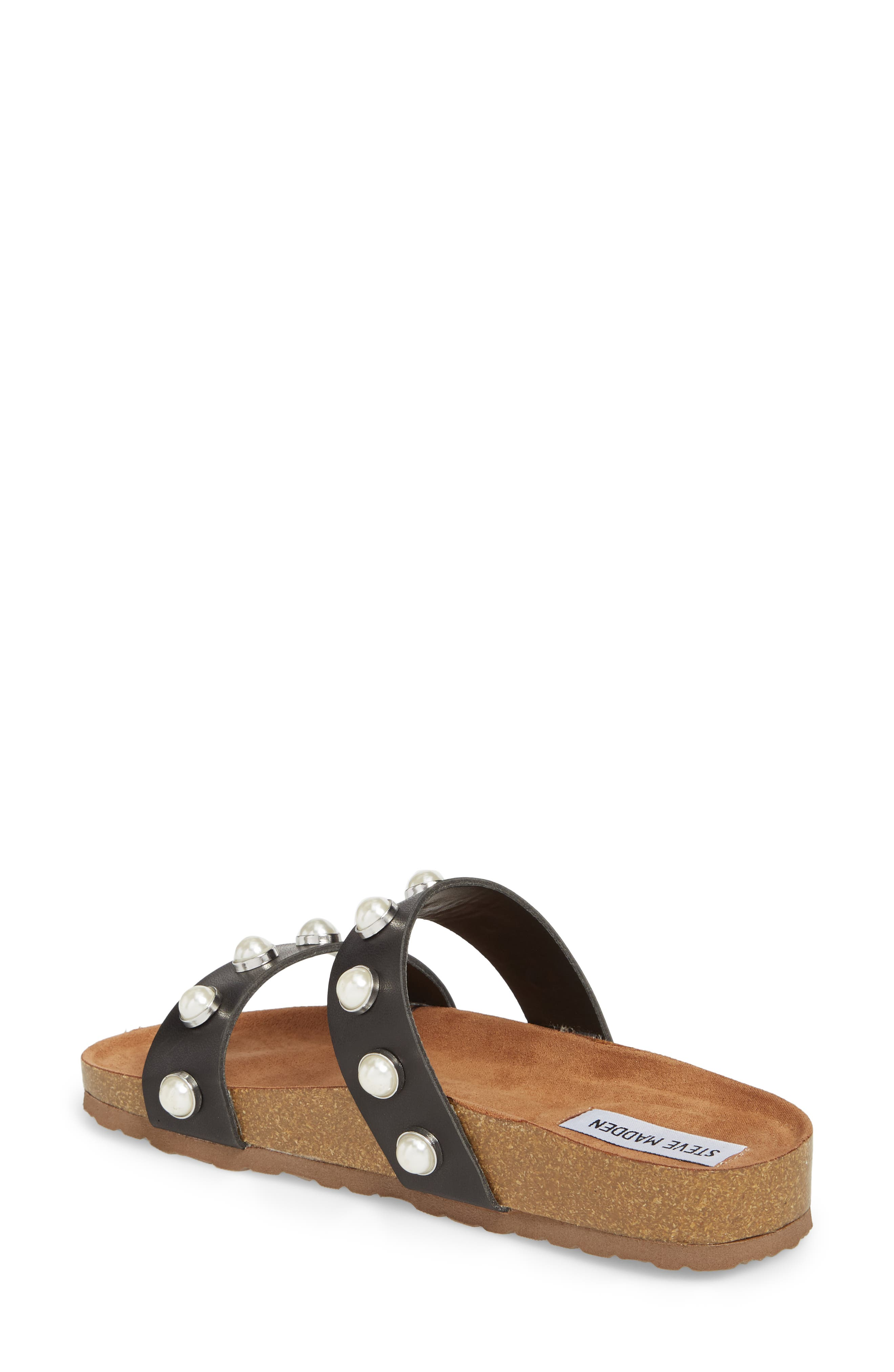 Asset Embellished Slide Sandal,                             Alternate thumbnail 2, color,                             Black