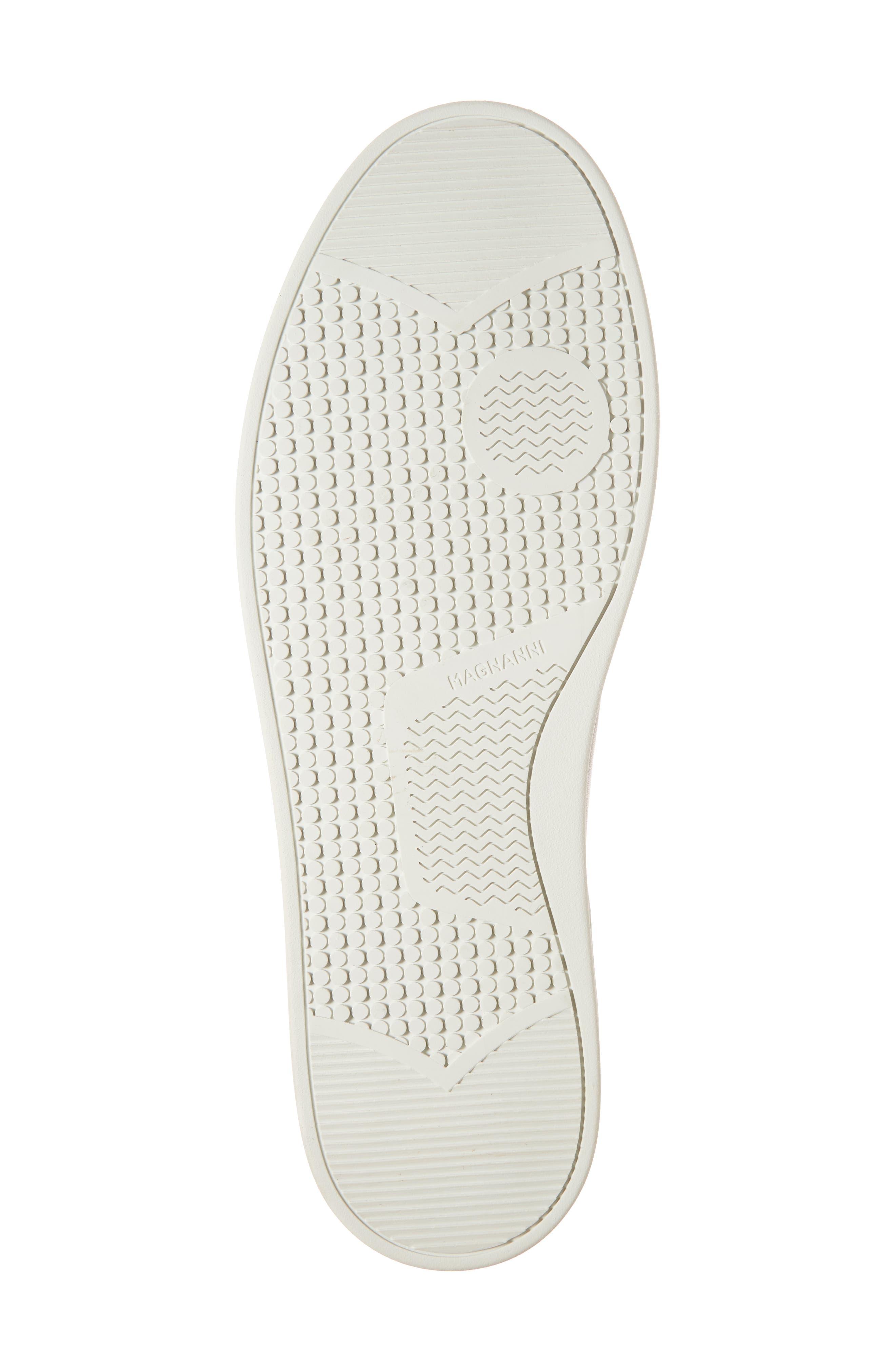 Gunner Low Top Sneaker,                             Alternate thumbnail 6, color,                             Cuero Leather