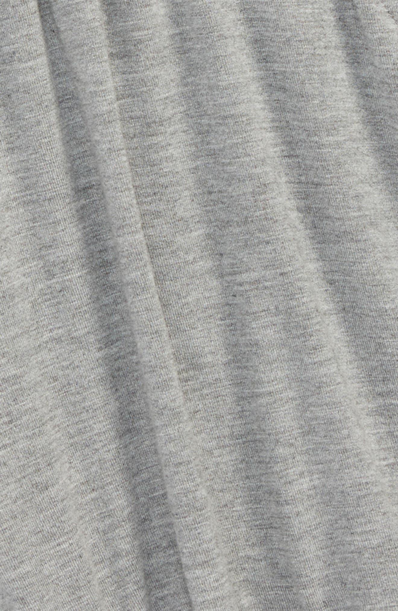 Ruffle Shorts,                             Alternate thumbnail 2, color,                             Grey Medium Heather