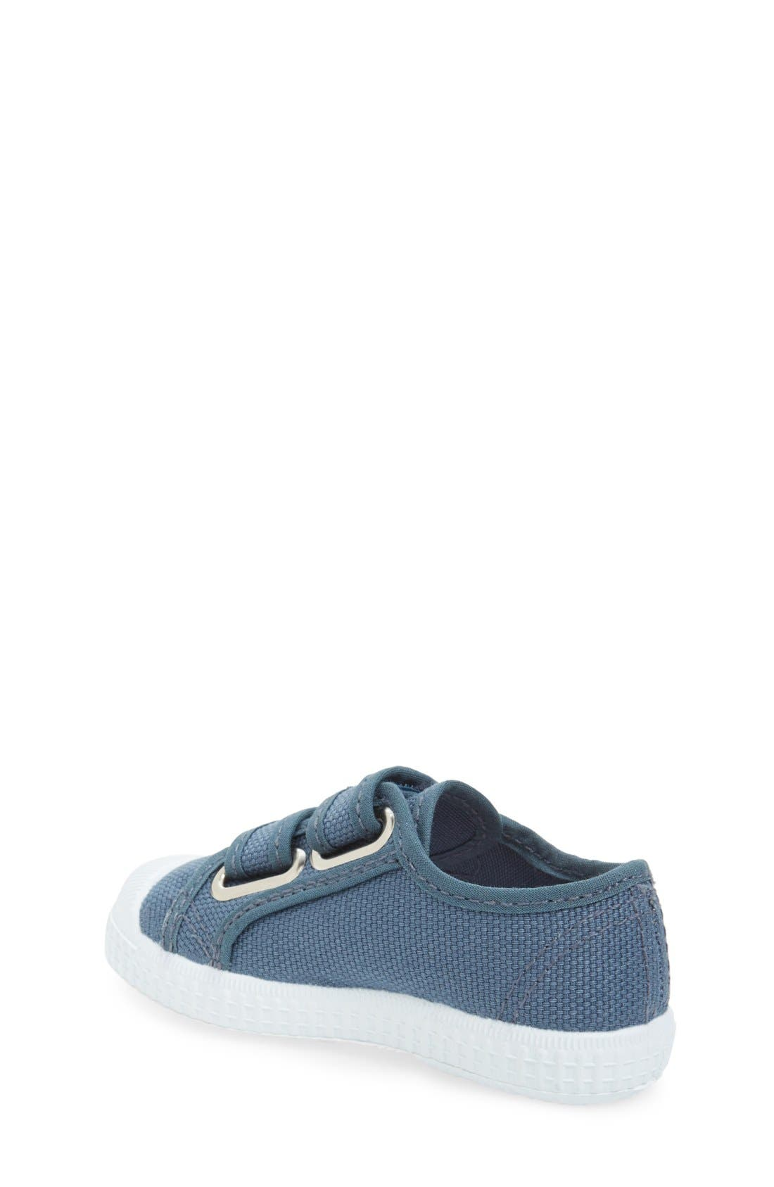 Canvas Sneaker,                             Alternate thumbnail 2, color,                             Grey