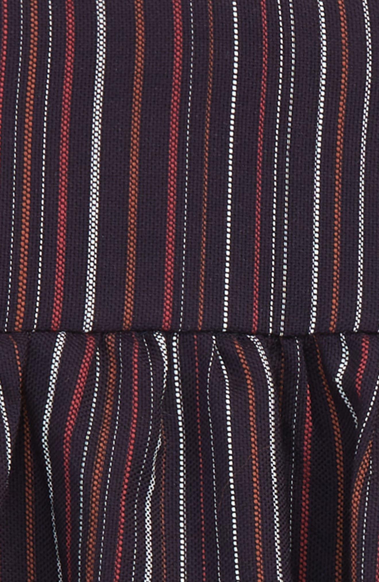 Stripe Tank Dress,                             Alternate thumbnail 2, color,                             Navy/ Stripe