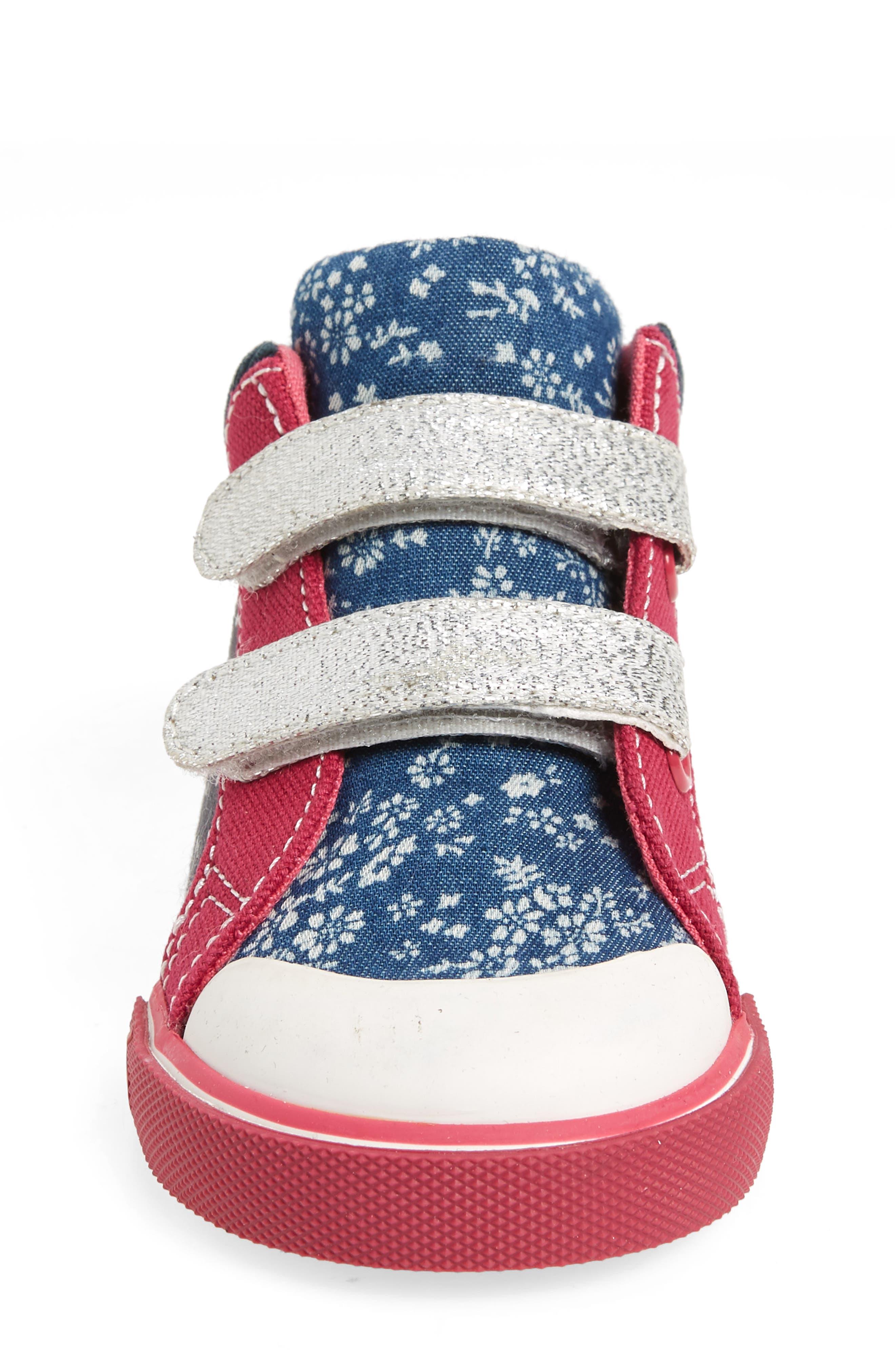 Kya Sneaker,                             Alternate thumbnail 4, color,                             Navy Corduroy/ Multi