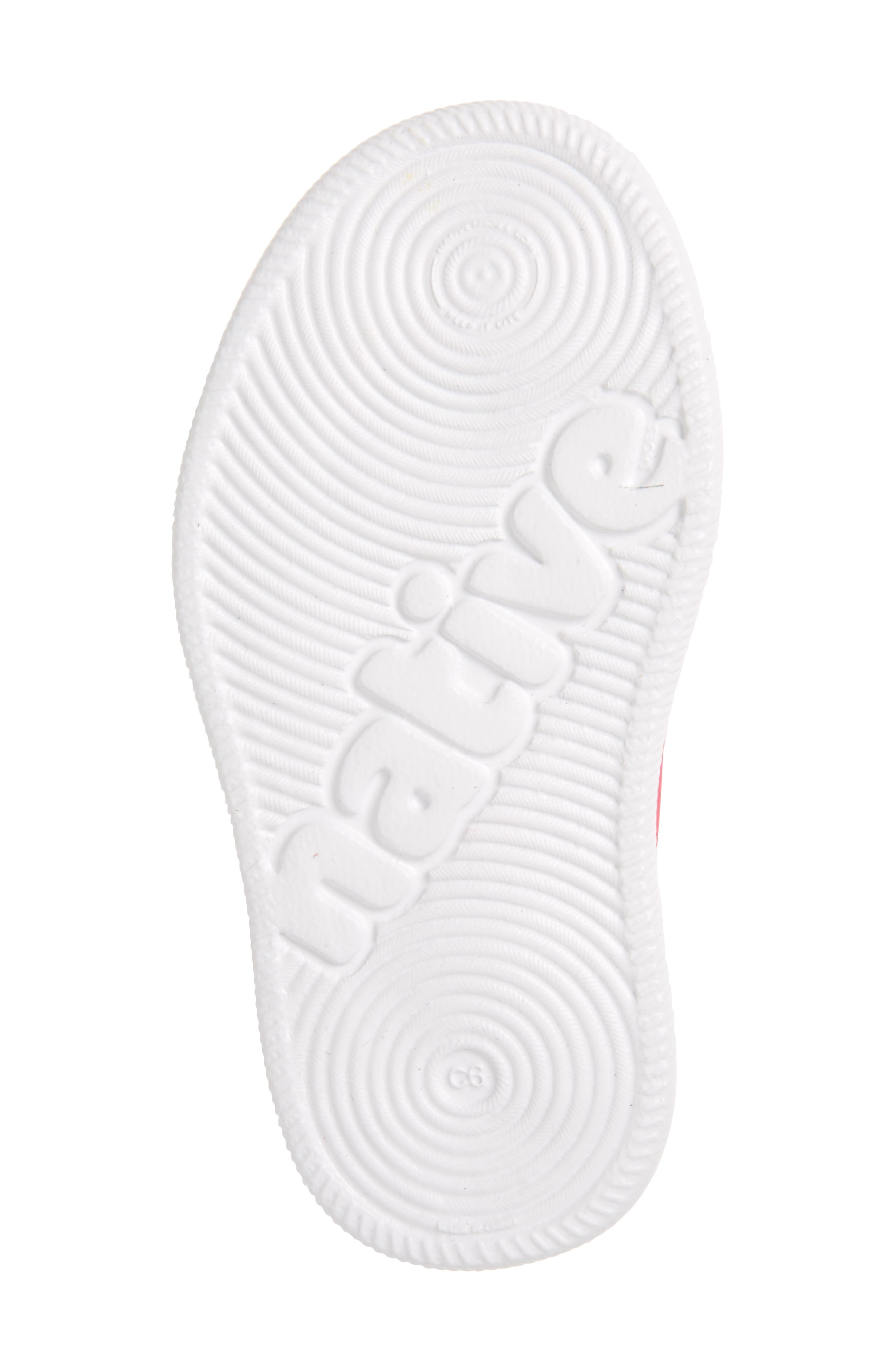 Verona Perforated Water Friendly Slip-On,                             Alternate thumbnail 6, color,                             Hollywood Pink/ Shell White