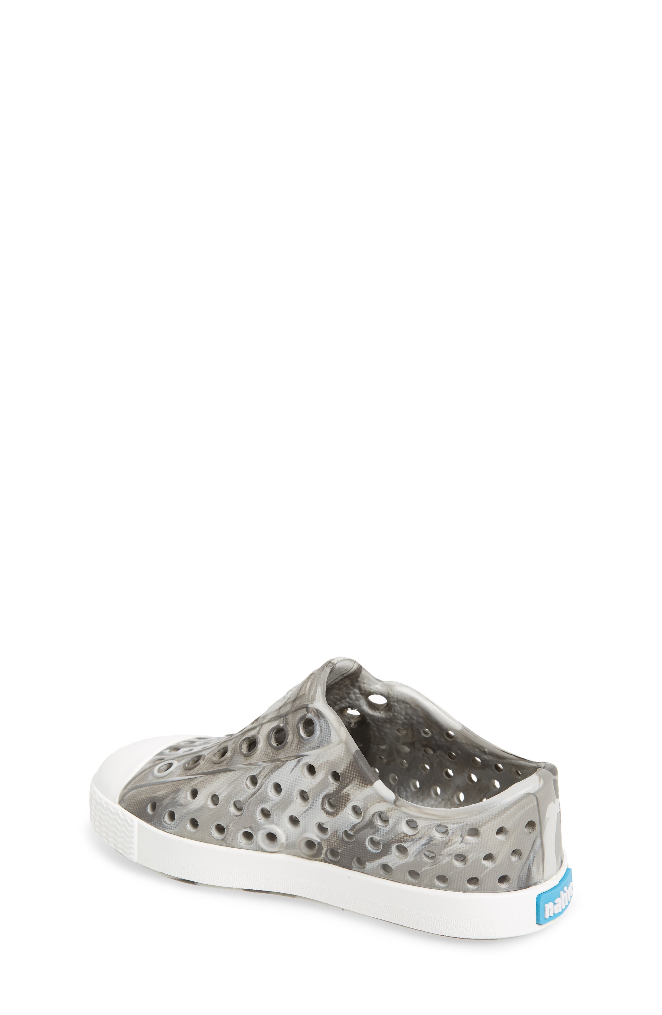 Jefferson - Marbled Perforated Slip-On,                             Alternate thumbnail 2, color,                             Grey/ Shell White/ Marble