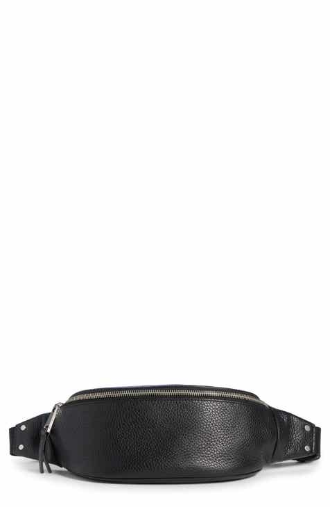 8c2d3372de Treasure   Bond Mason Pebbled Leather Belt Bag