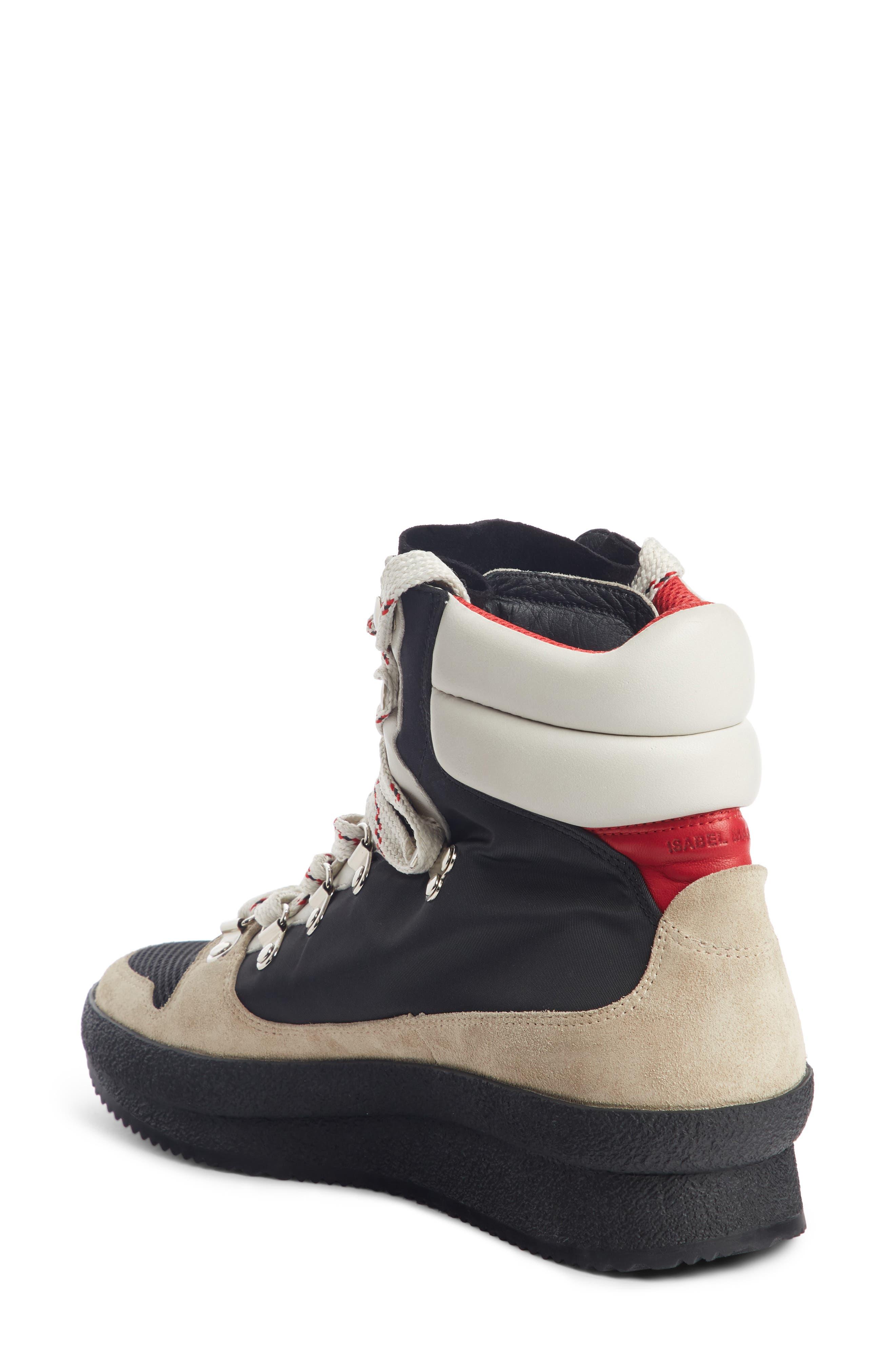 Isabel Marant Women's Brendta High Top Sneaker Boot MrzOcY