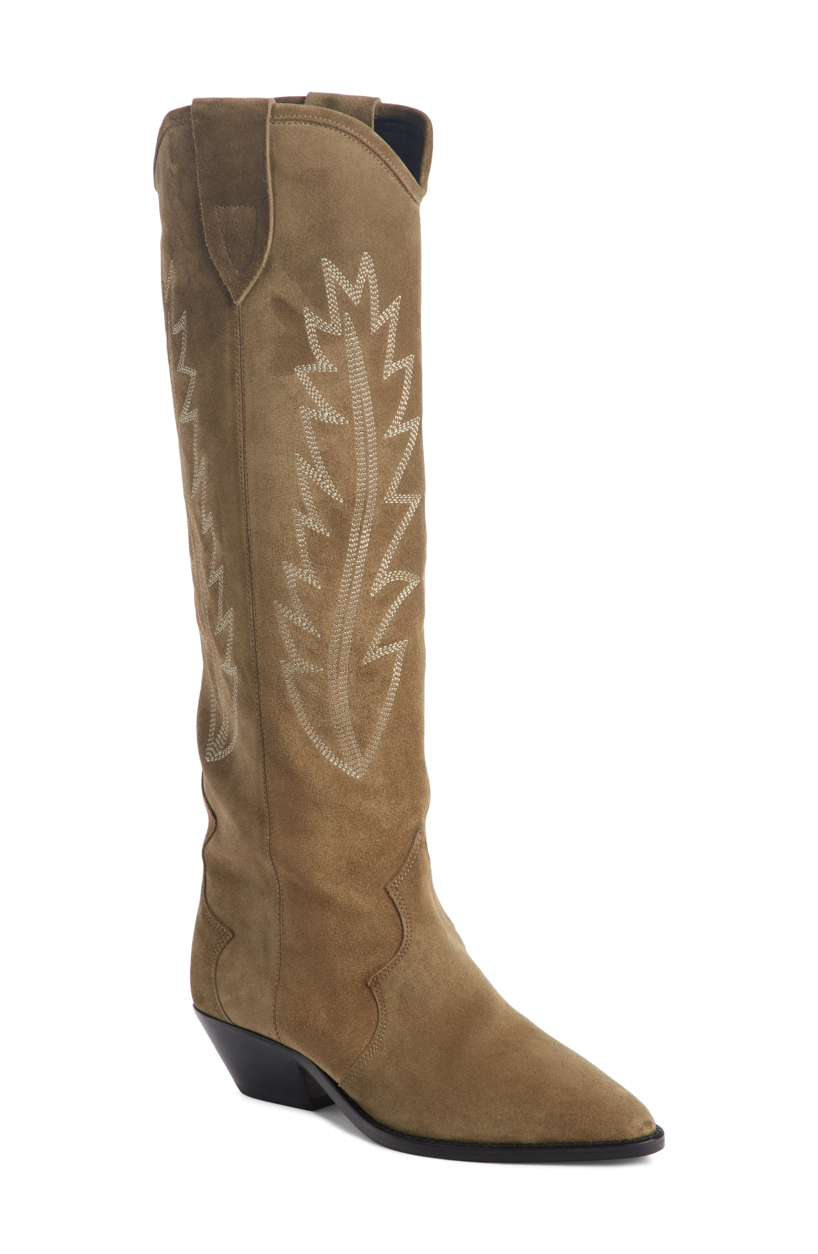 Isabel Marant Denzy Pull-On Western Boot (Women)