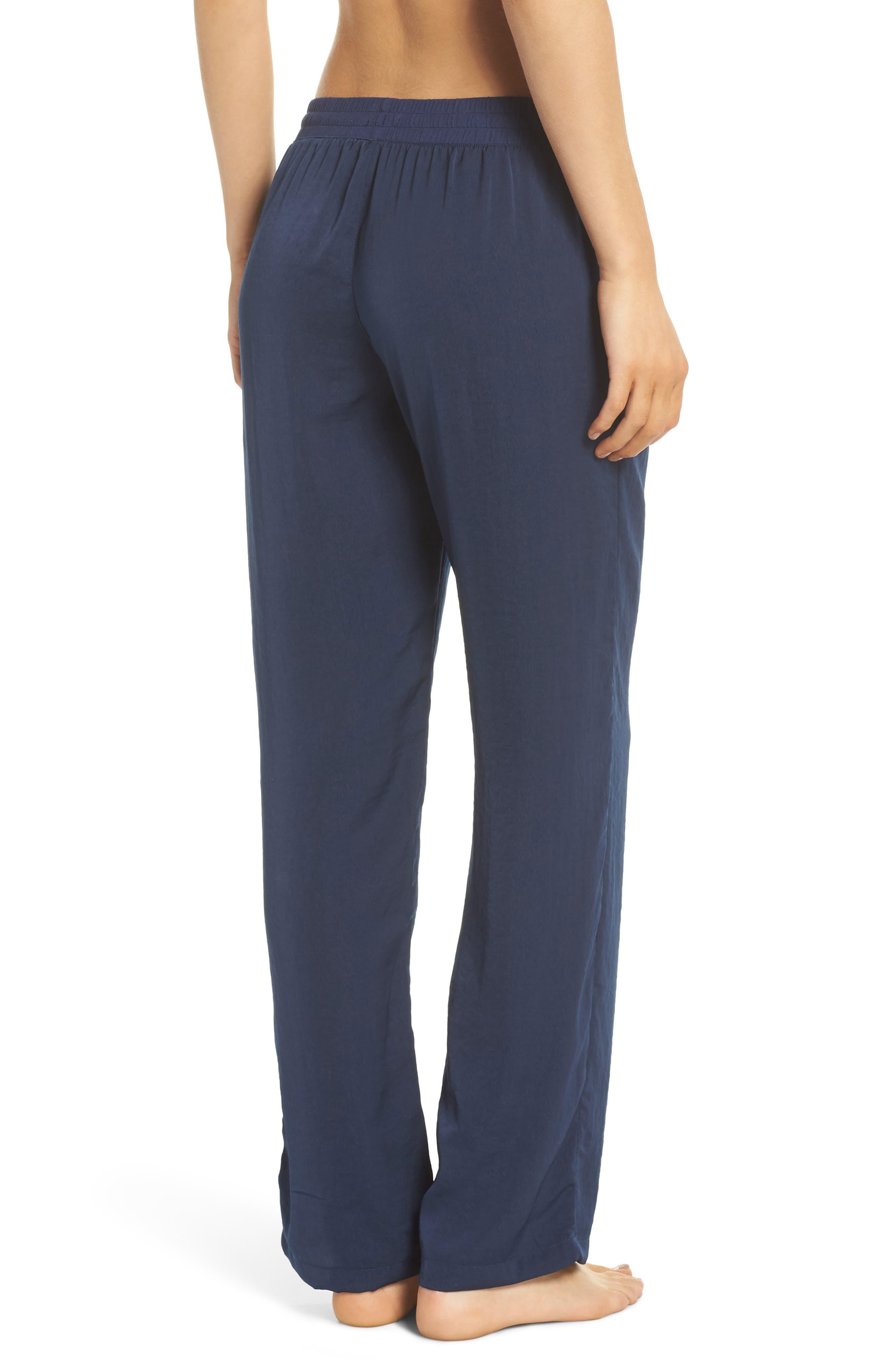Pajama Pants,                             Alternate thumbnail 2, color,                             Navy