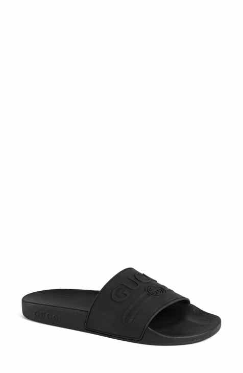 79e6d2ab99ca Gucci Pursuit Logo Slide Sandal (Women)