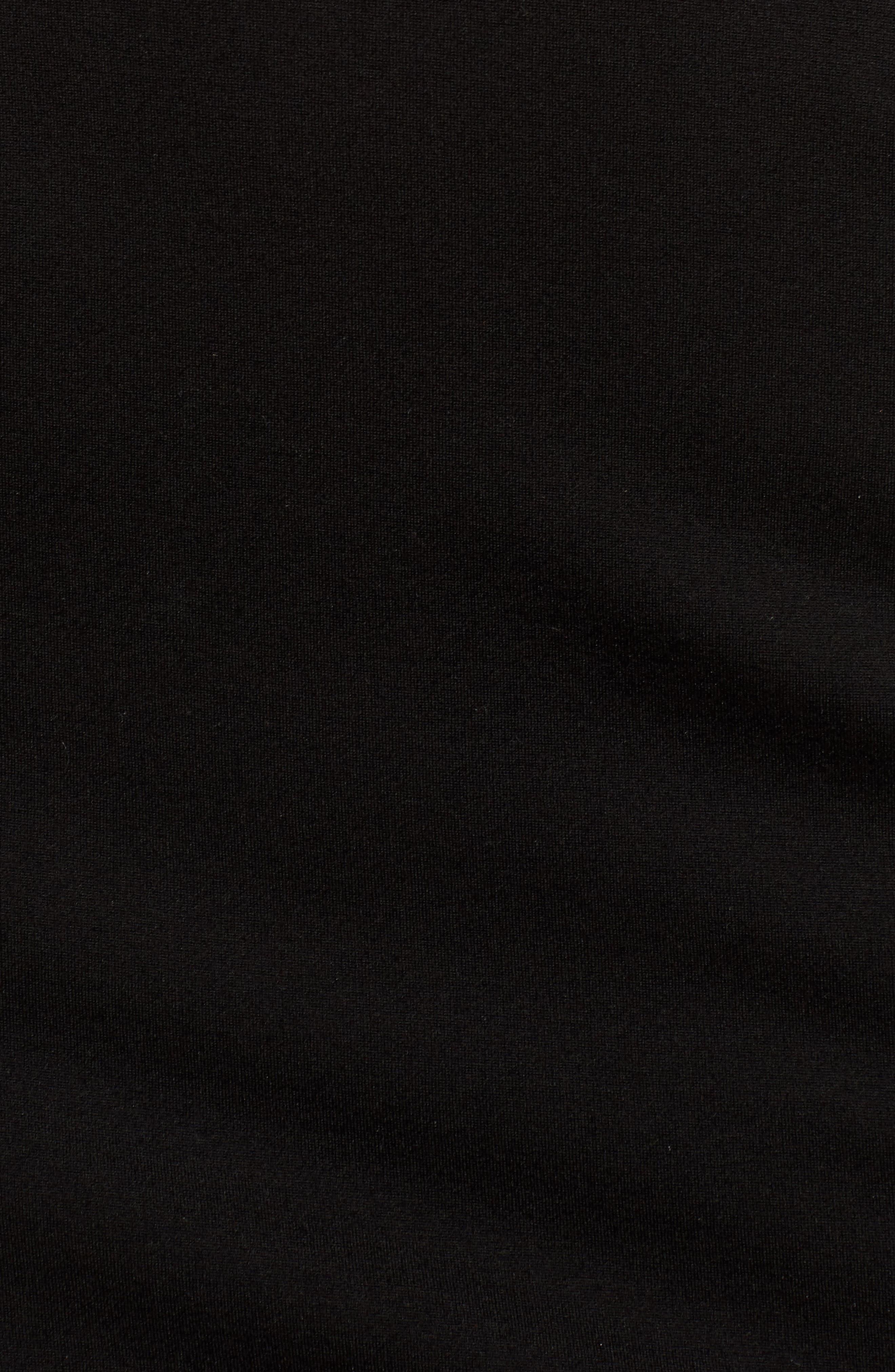 Exposition Dress,                             Alternate thumbnail 7, color,                             Black