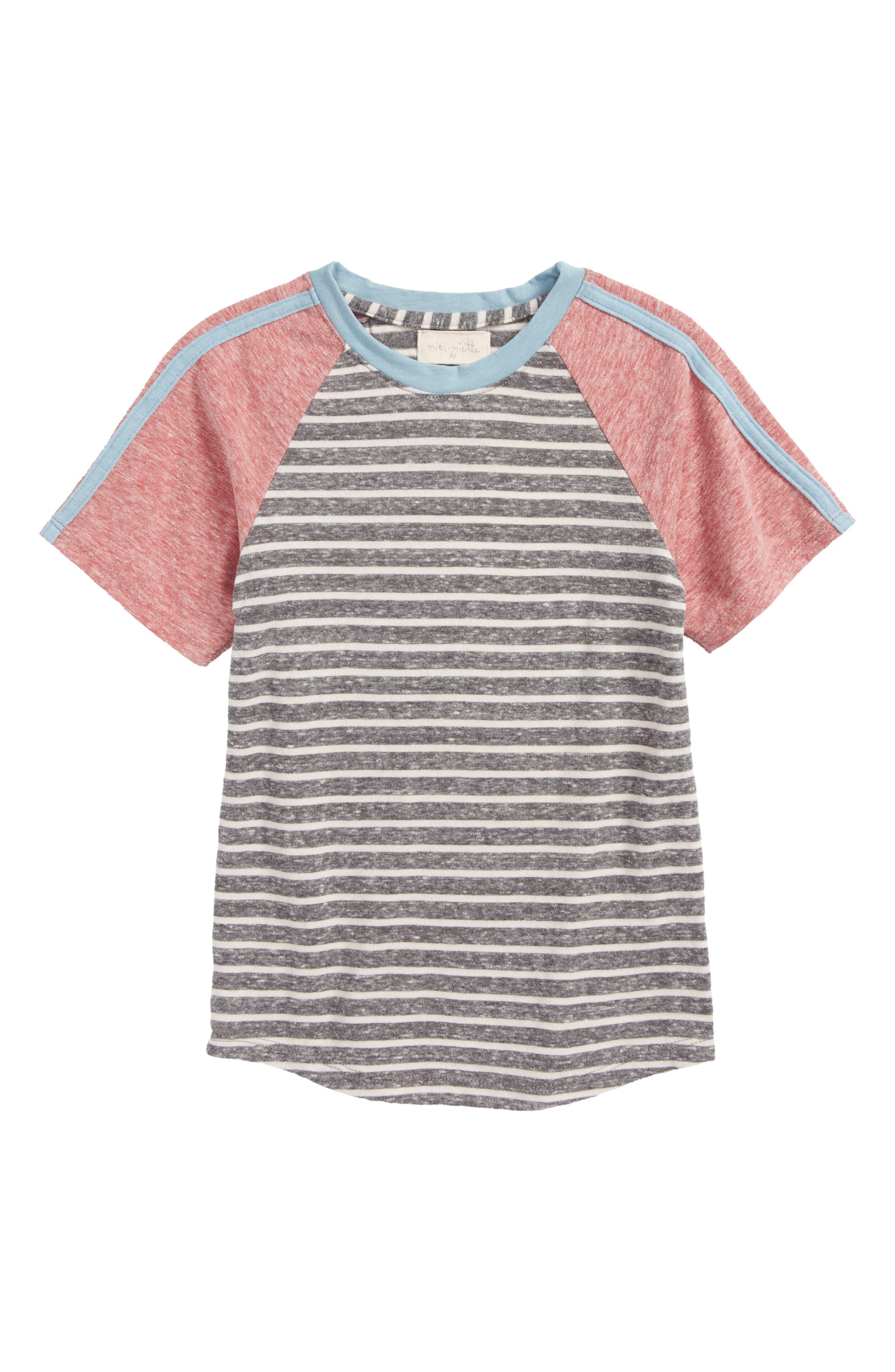 Miki Miette Erick Striped T-Shirt (Toddler Boys, Little Boys & Big Boys)
