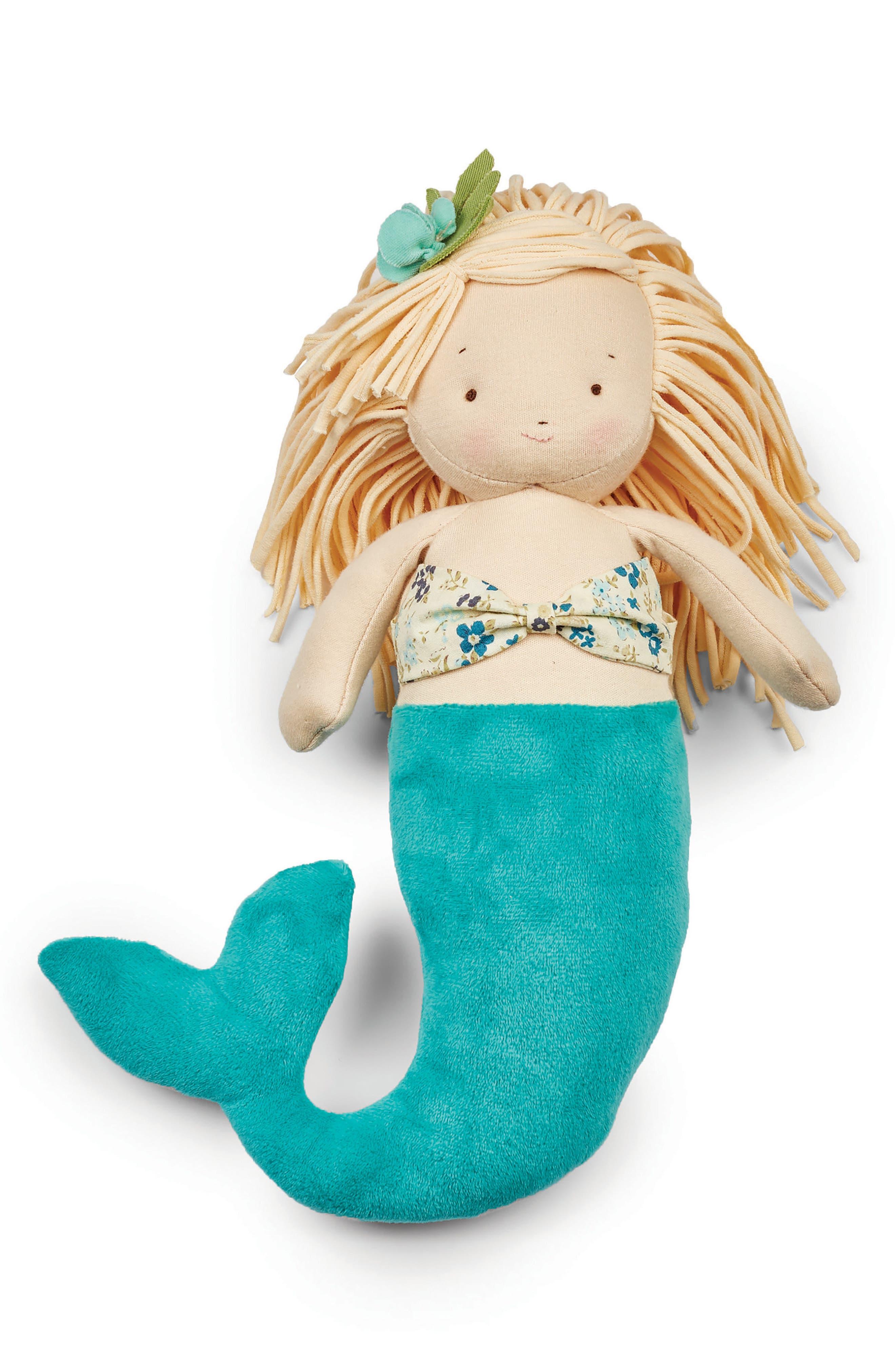 El-Sea Mermaid Doll,                         Main,                         color, Beige