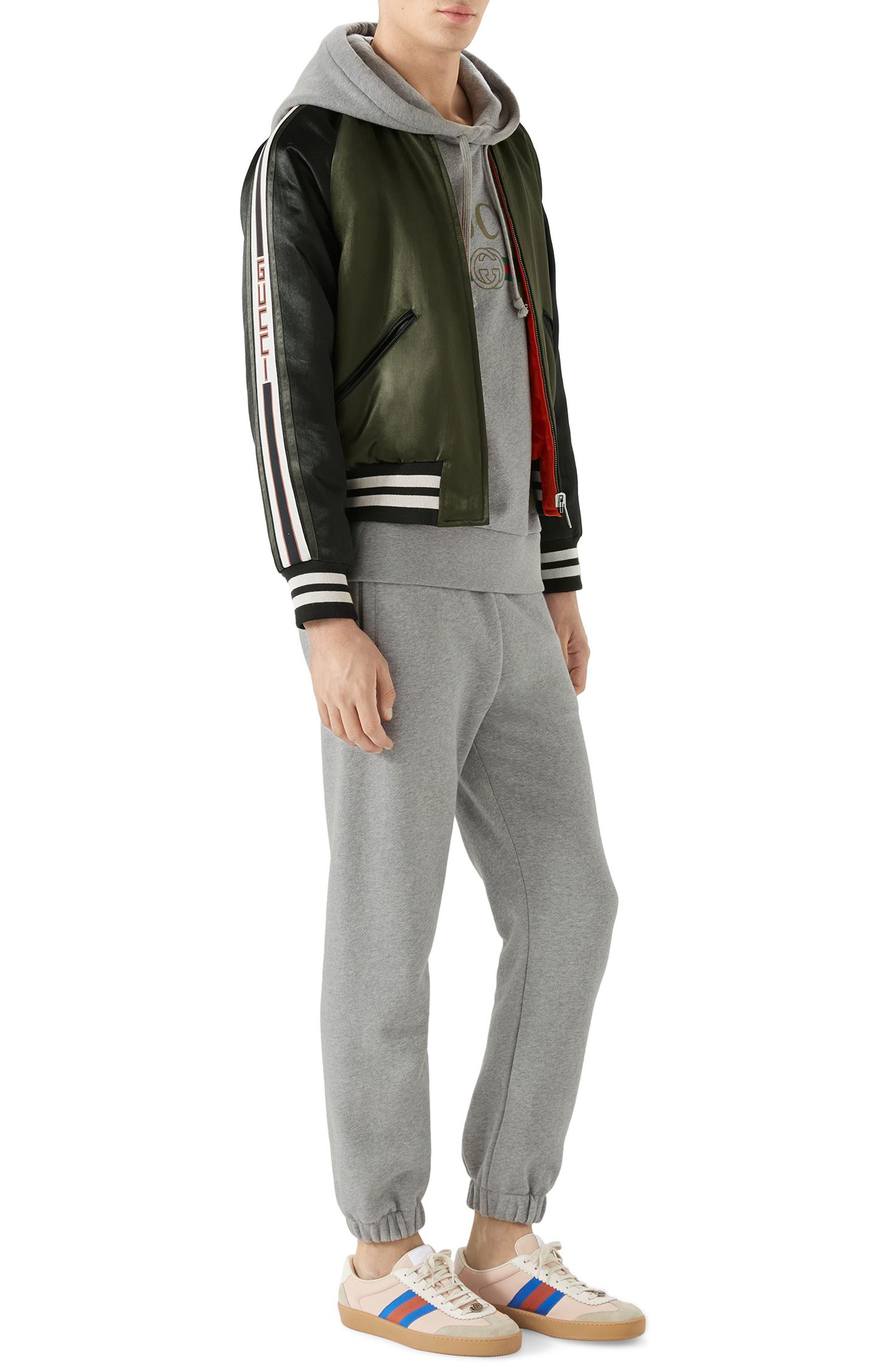 Alternate Image 3  - Gucci Souvenir Bomber Jacket
