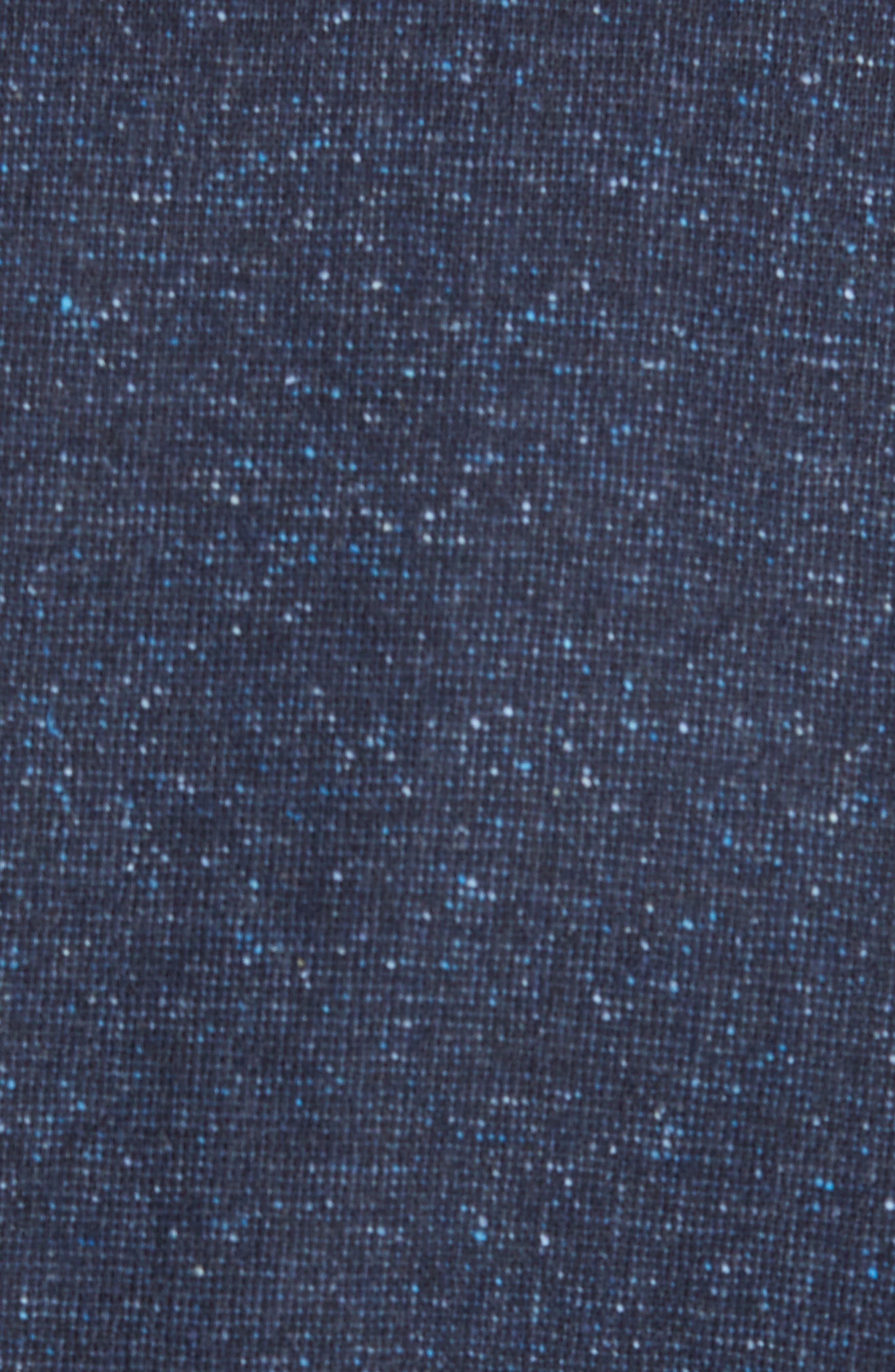 Jay Trim Fit Tweed Wool & Silk Sport Coat,                             Alternate thumbnail 5, color,                             Blue