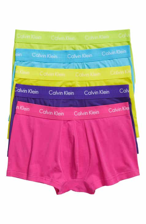 5401ed30a5 Calvin Klein 5-Pack Stretch Cotton Low Rise Trunks