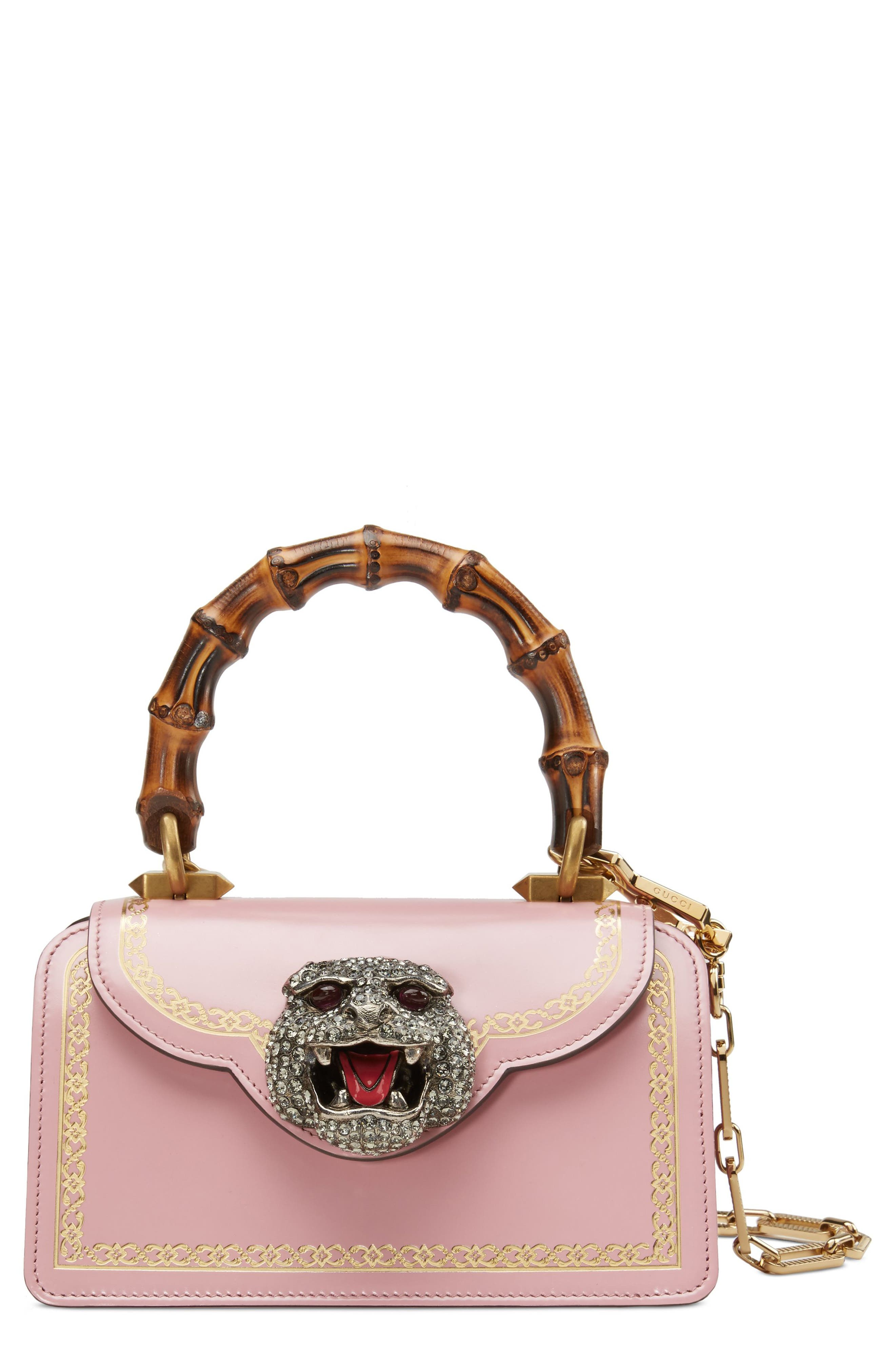 Gucci Mini Thiara Top Handle Leather Satchel