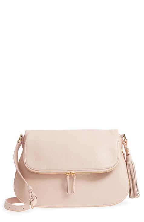 Nordstrom Kara Leather Expandable Crossbody Bag ea4879a5157