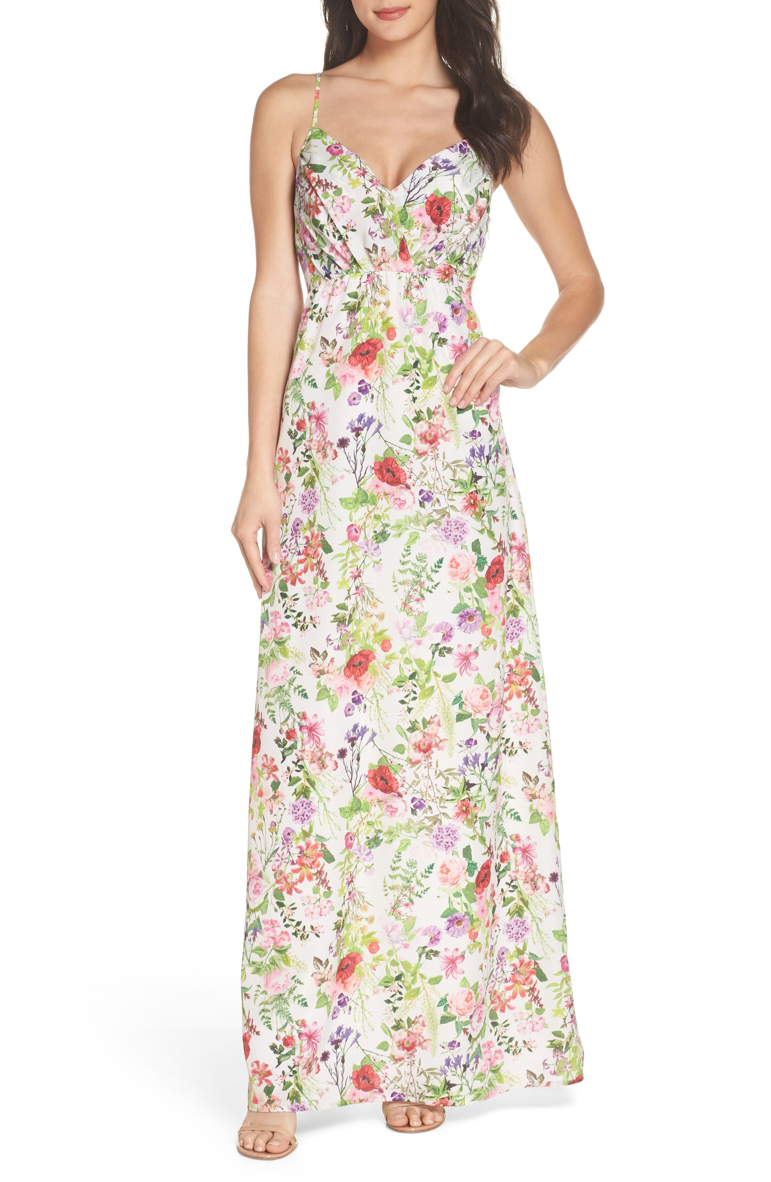 Felicity & Coco Carolina Print Maxi Dress (Regular & Petite)