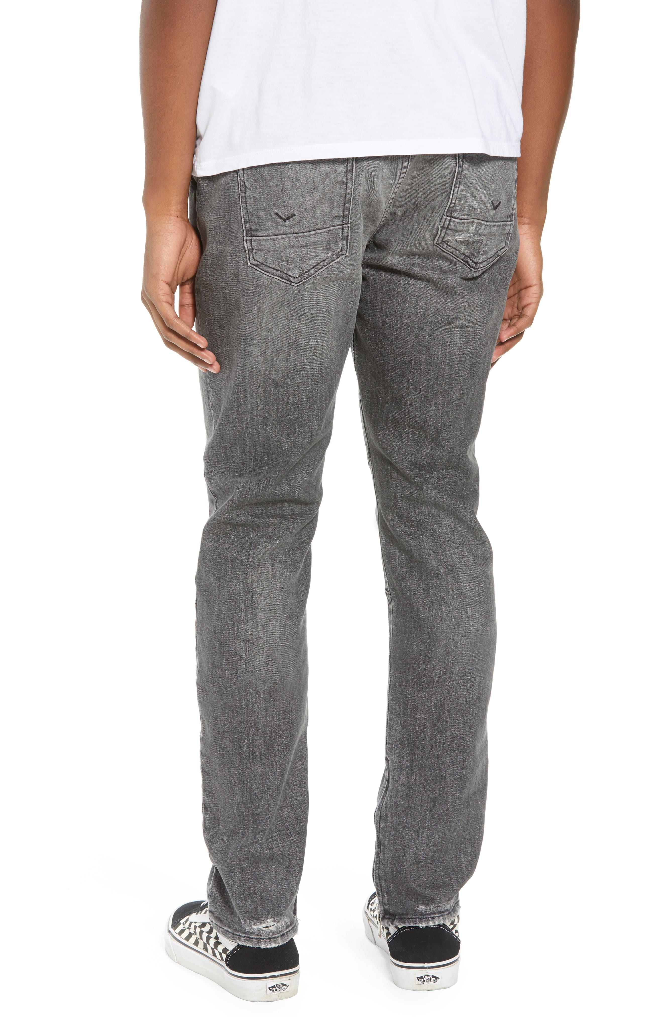 Vaughn Biker Skinny Fit Jeans,                             Alternate thumbnail 2, color,                             Kingpin