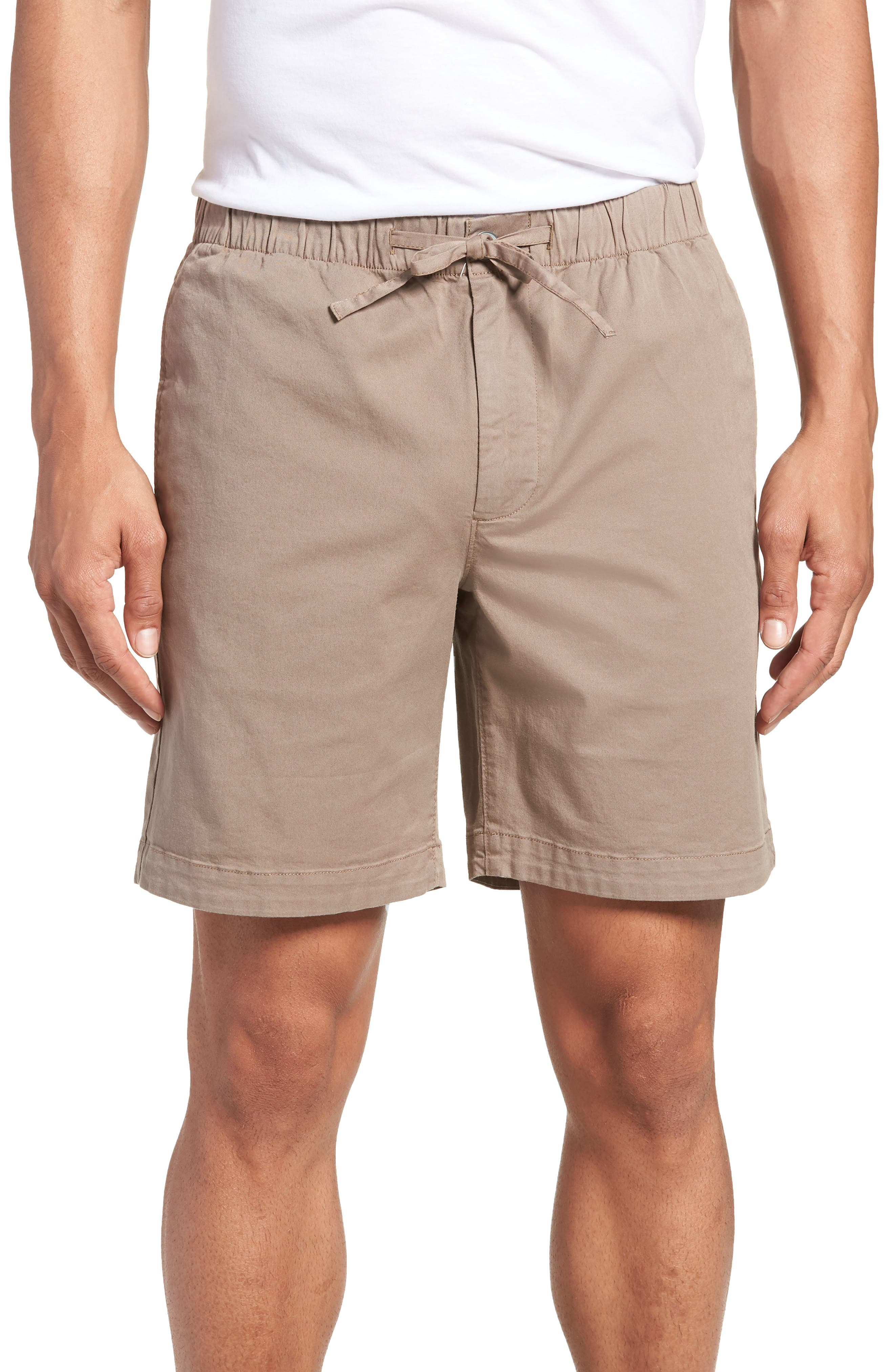 7-Inch Beach Shorts,                             Main thumbnail 1, color,                             Desert Granite